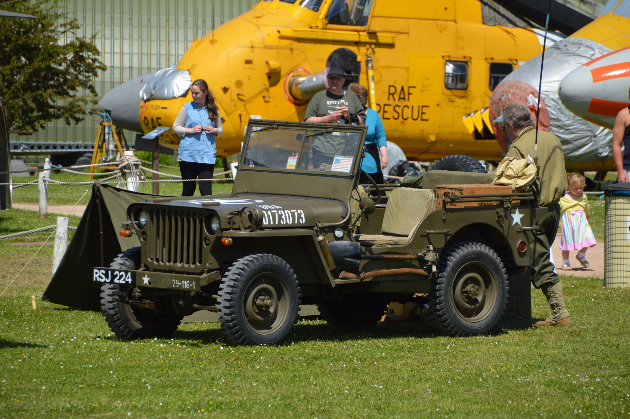 Willys Jeep - RSJ 224 - 1942 by Graham Wood Photo Collection