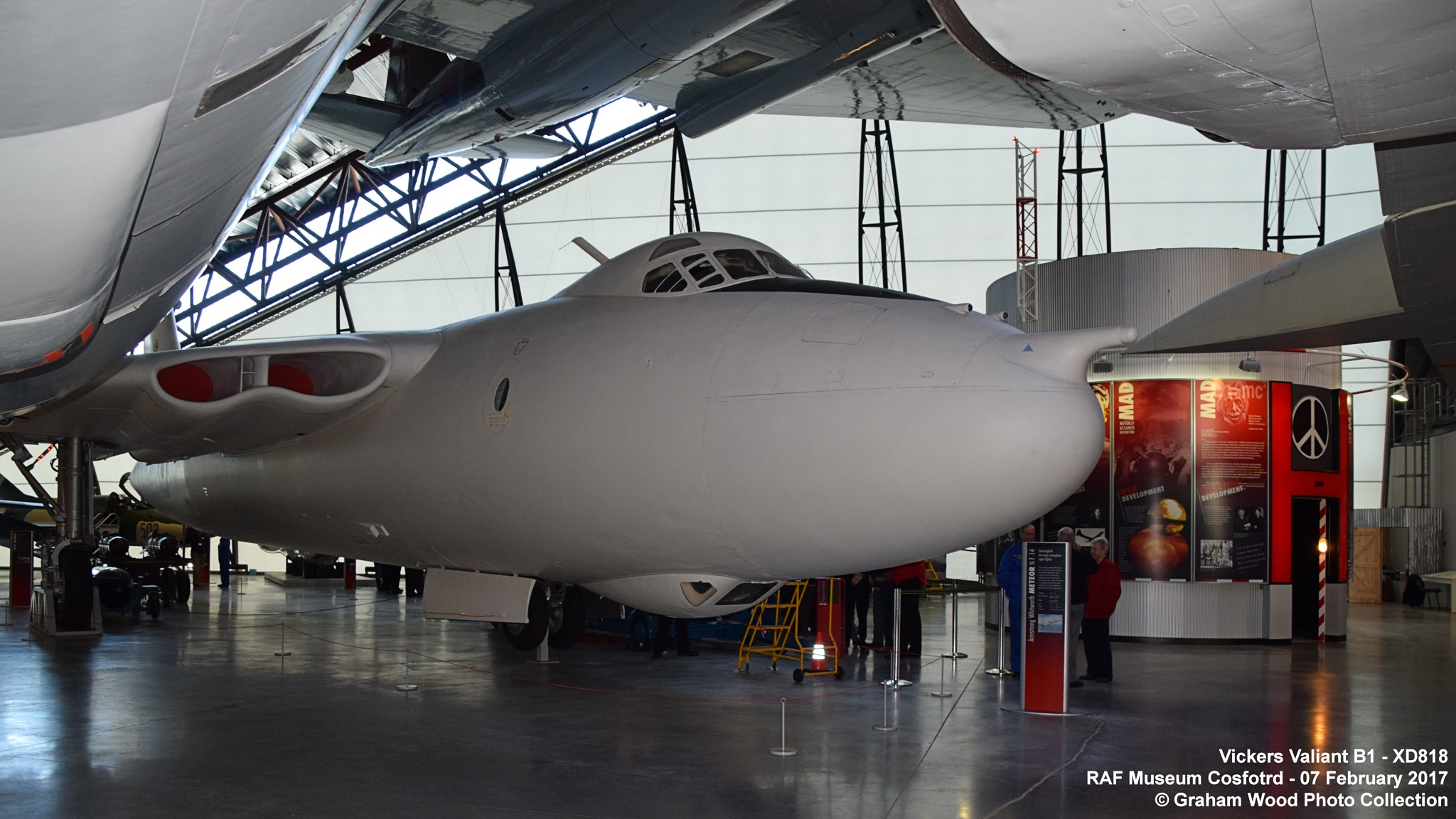 Vickers Valiant B1 - XD818 by Graham Wood Photo Collection