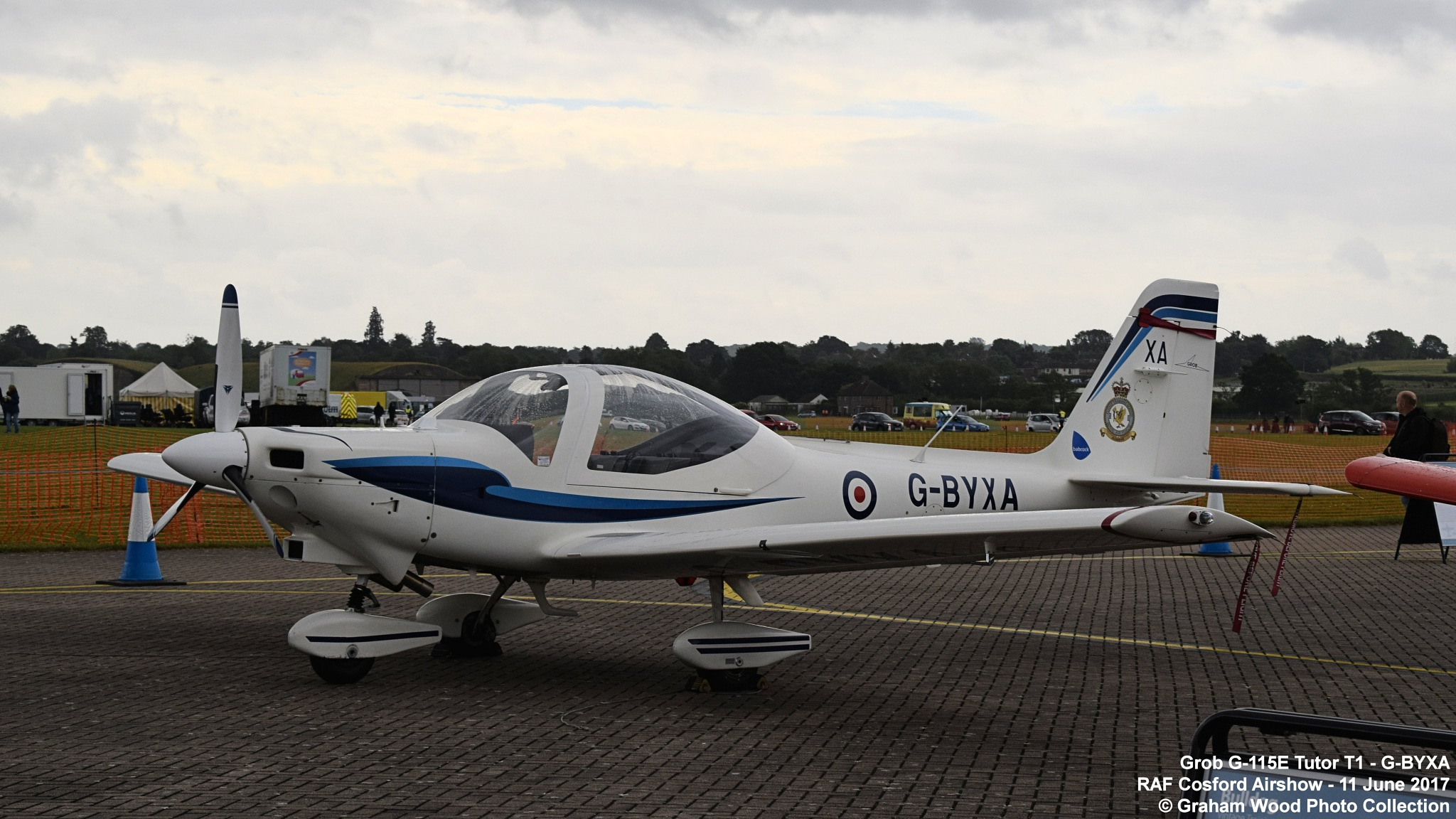 Grob G-115E Tutor T1 - G-BYXA by Graham Wood Photo Collection