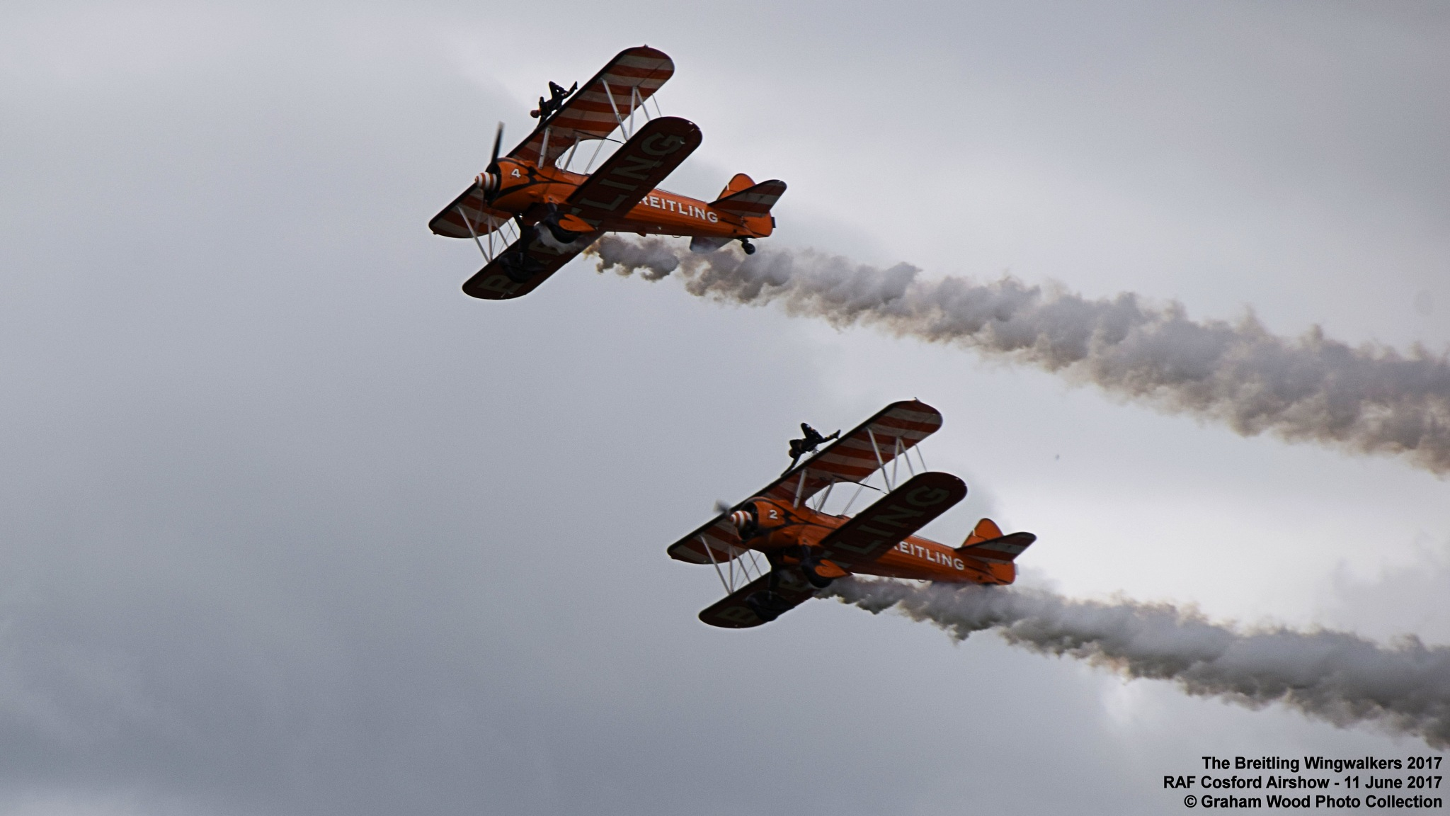 The Breitling Wingwalkers 2017 by Graham Wood Photo Collection