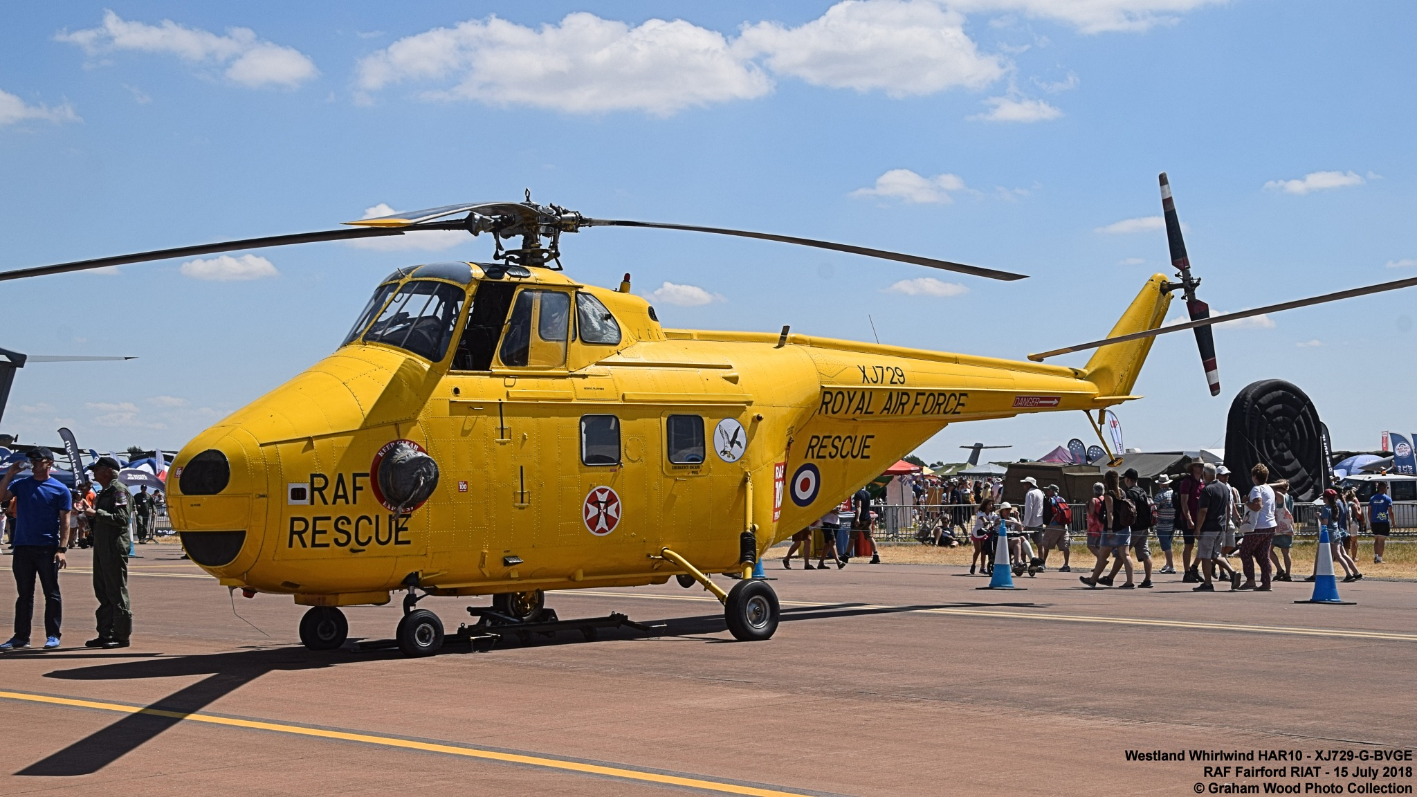 Westland Whirlwind HAR10 - XJ729-G-BVGE by Graham Wood Photo Collection