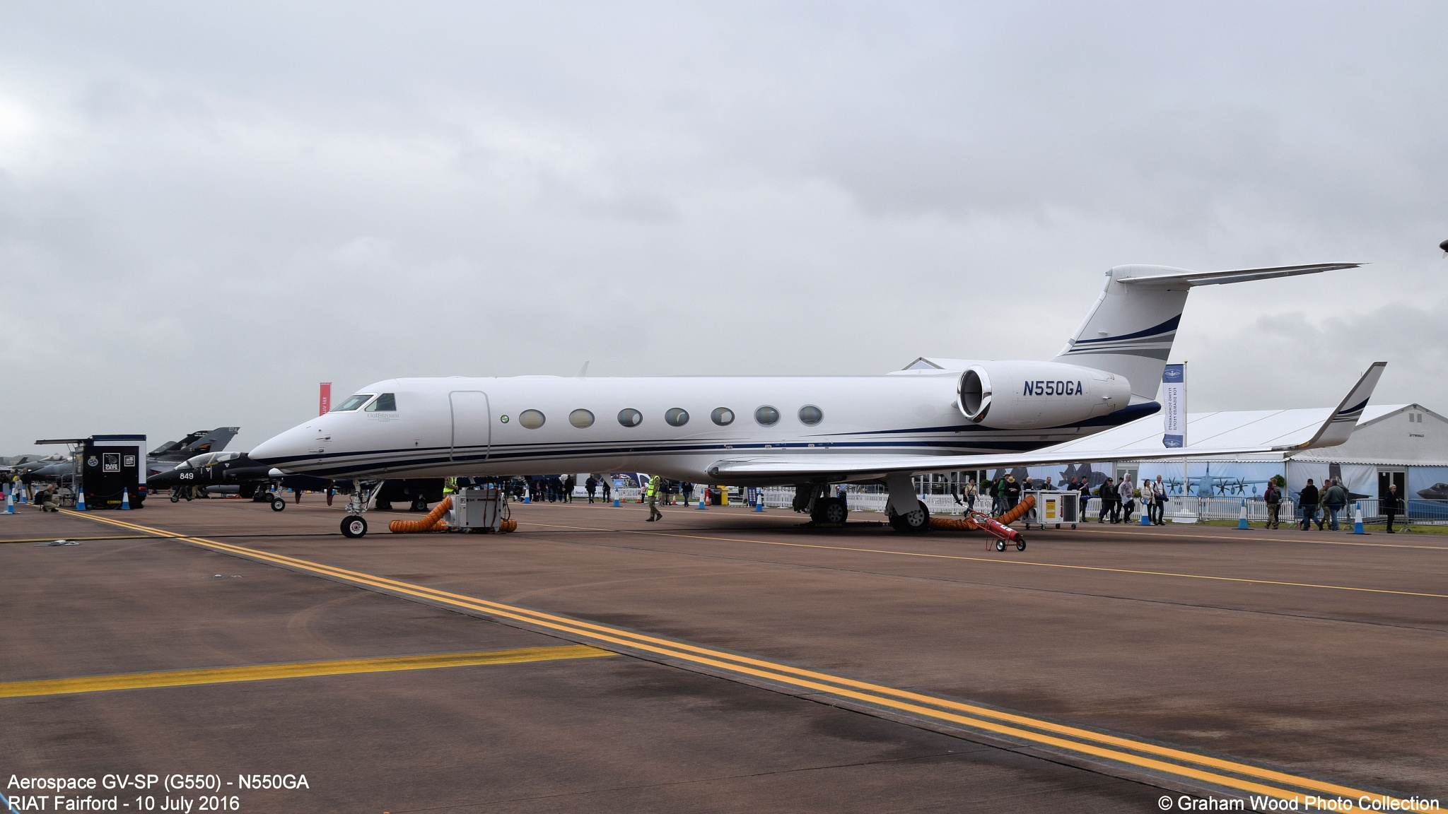 Aerospace GV-SP (G550) - N550GA by Graham Wood Photo Collection