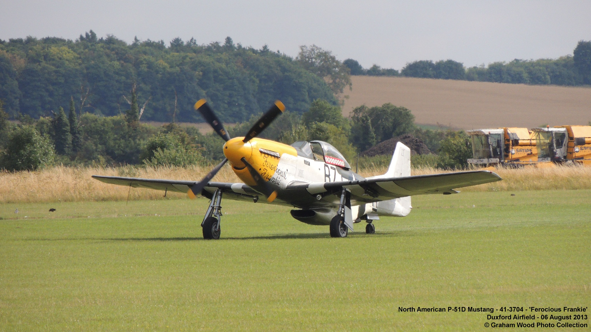 North American P-51D Mustang - 41-3704 - 'Ferocious Frankie' by Graham Wood Photo Collection