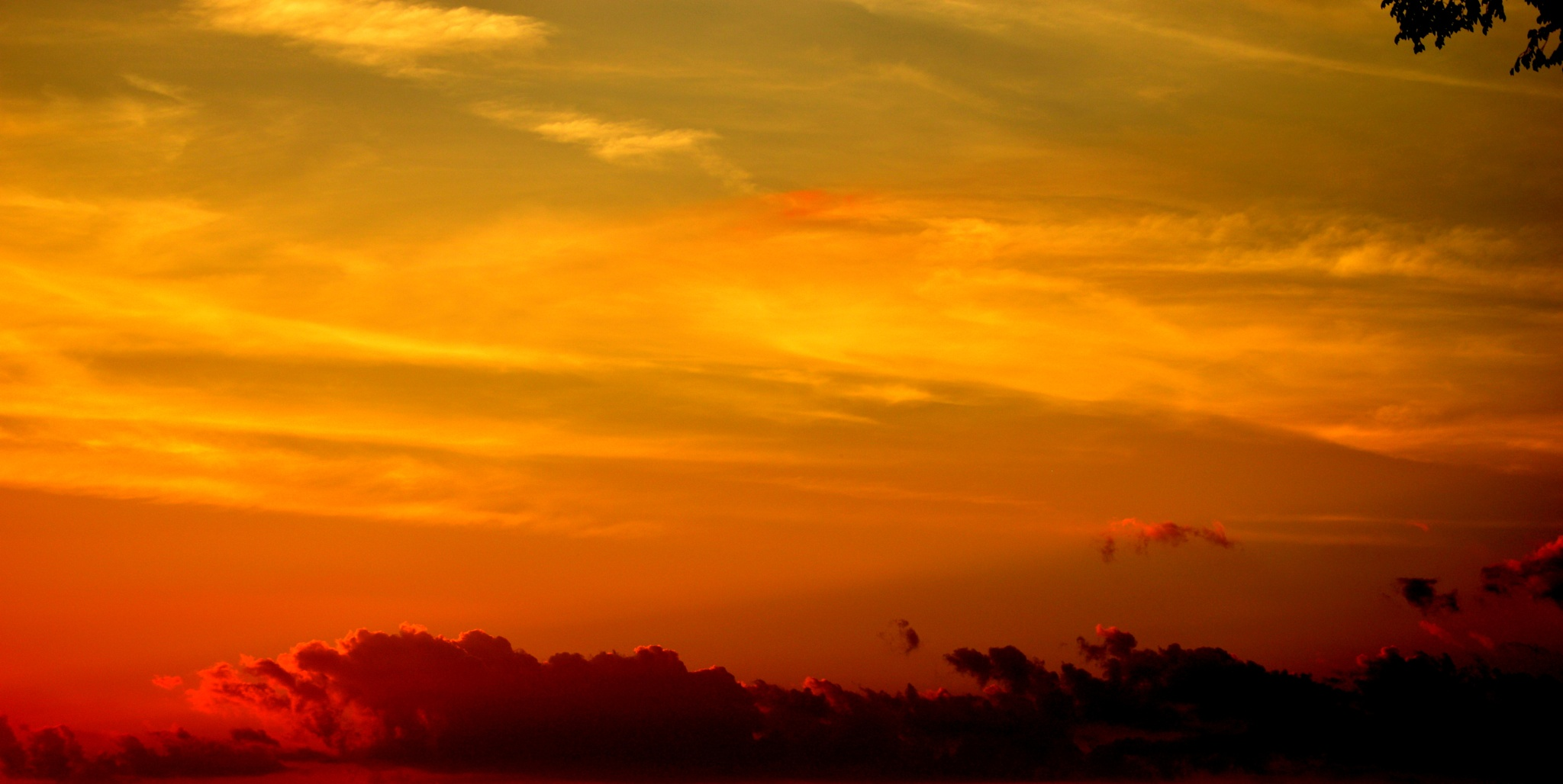 Sky at Sunset by SindeAnn