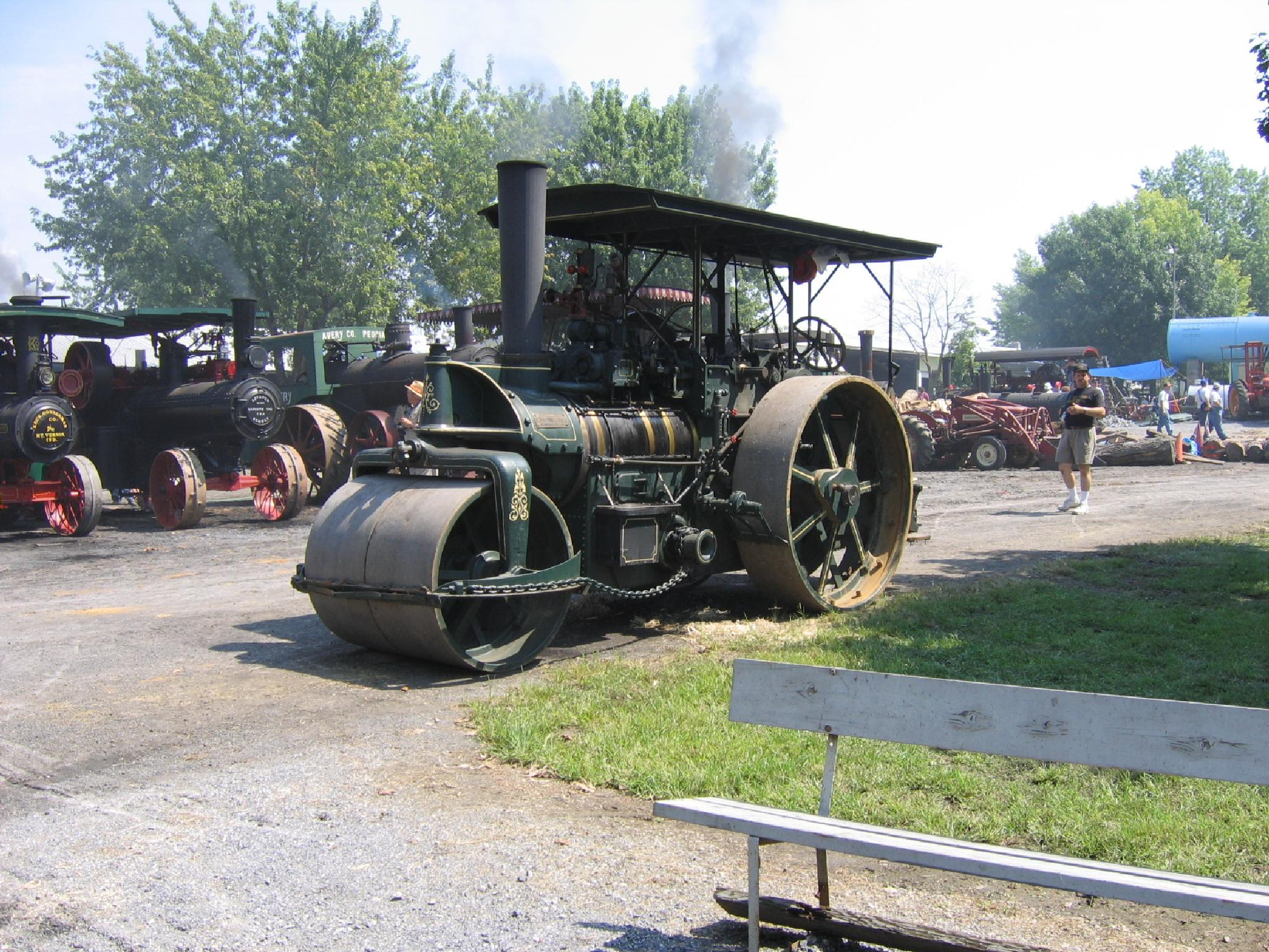 Rough & Tumble,Steam Roller   by janet.fisher.503