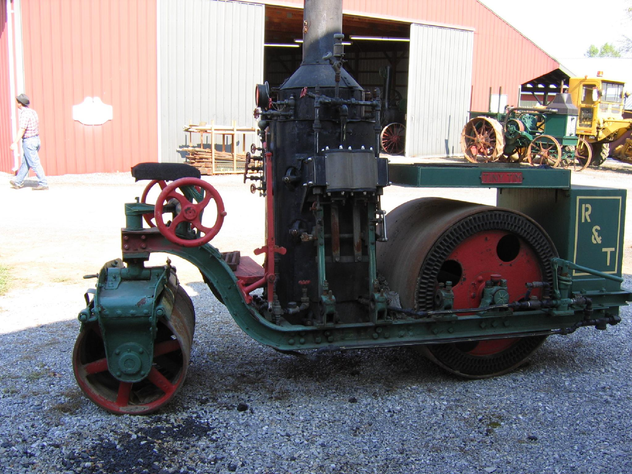 Rough & Tumble lll Old Steam Roller by janet.fisher.503