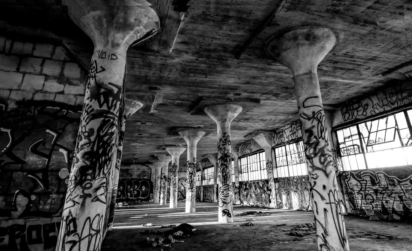 Urban Exploring by Steven R. Humphrey