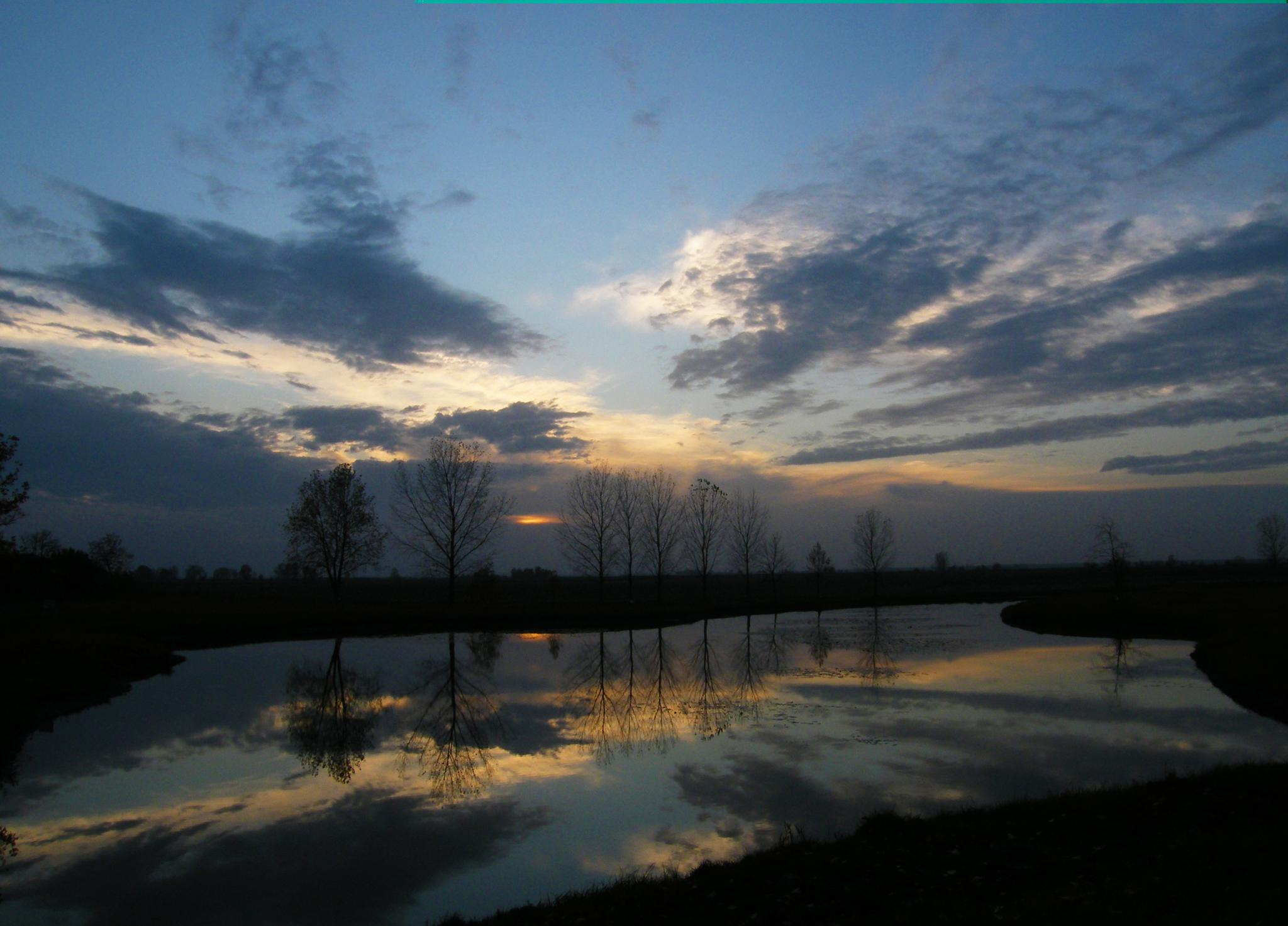 sunset by Banhidai Beata