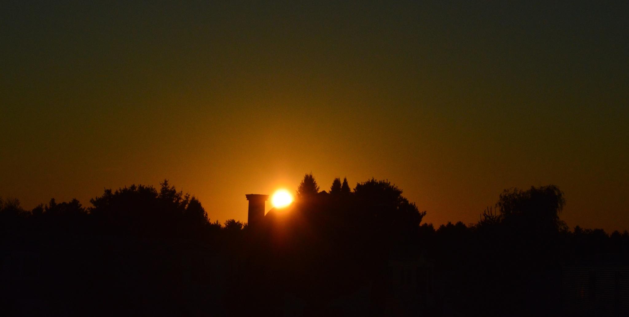 A Maine Sunset ~ Sept 5, 2015 by Emeraress