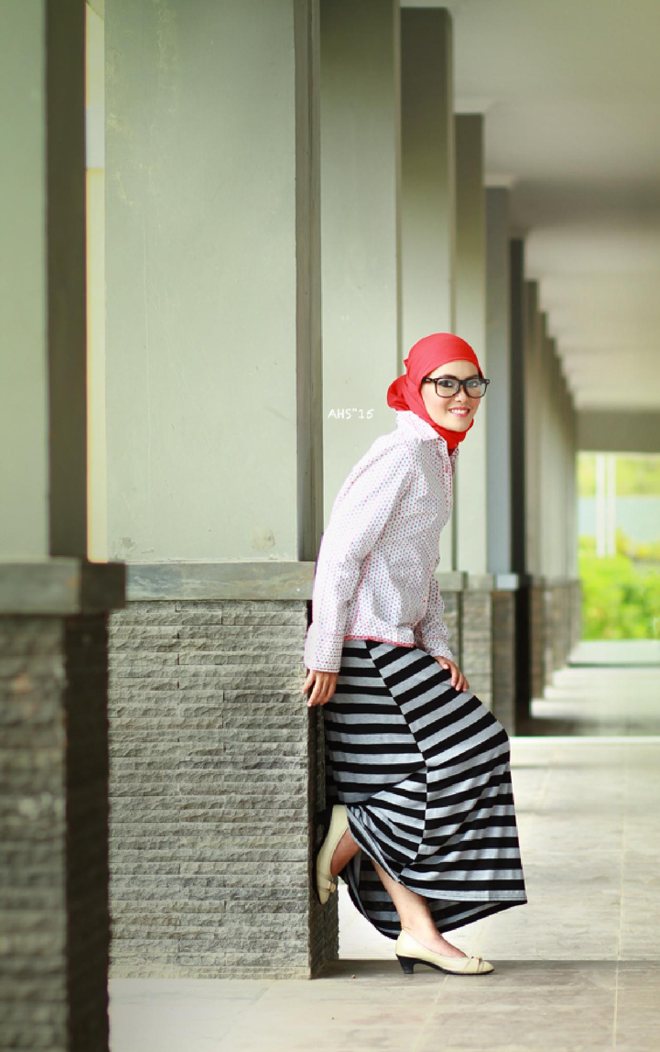 Photo in Fashion #model #hijab #balikpapan