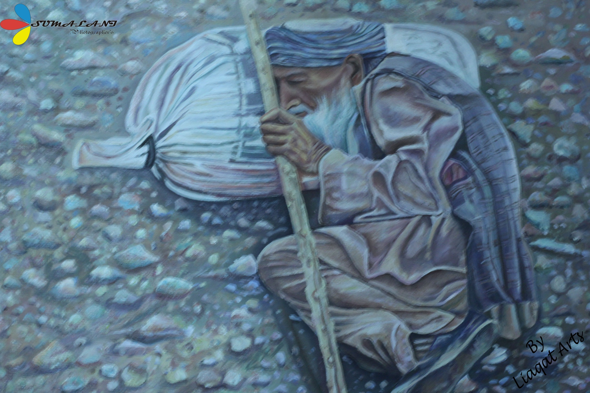 Painted Picture by Naimat Sumalani