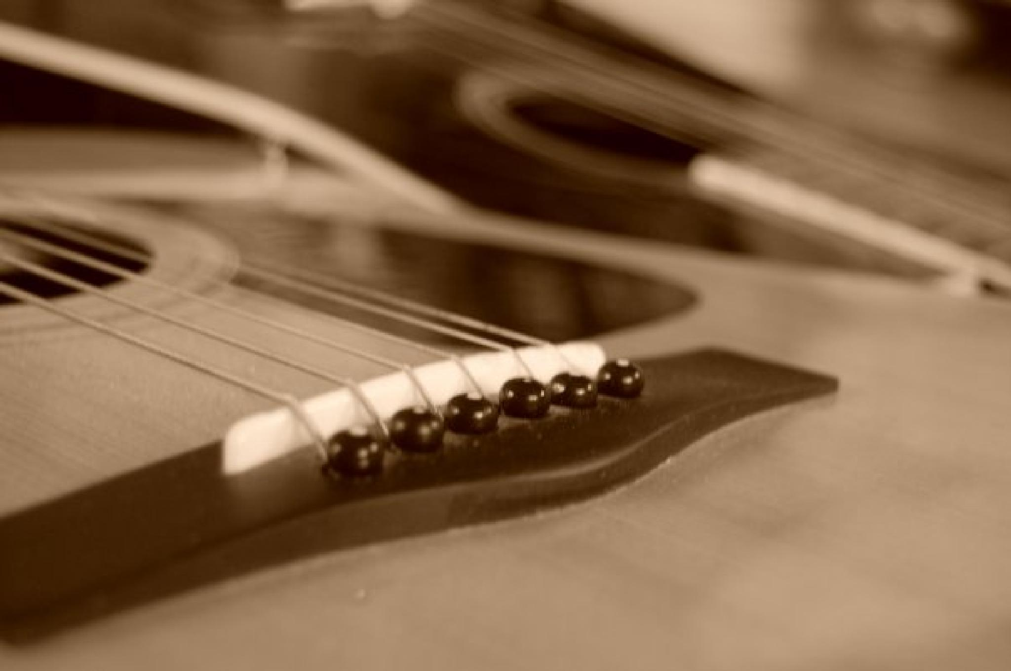 two guitars by kristin j clevenger