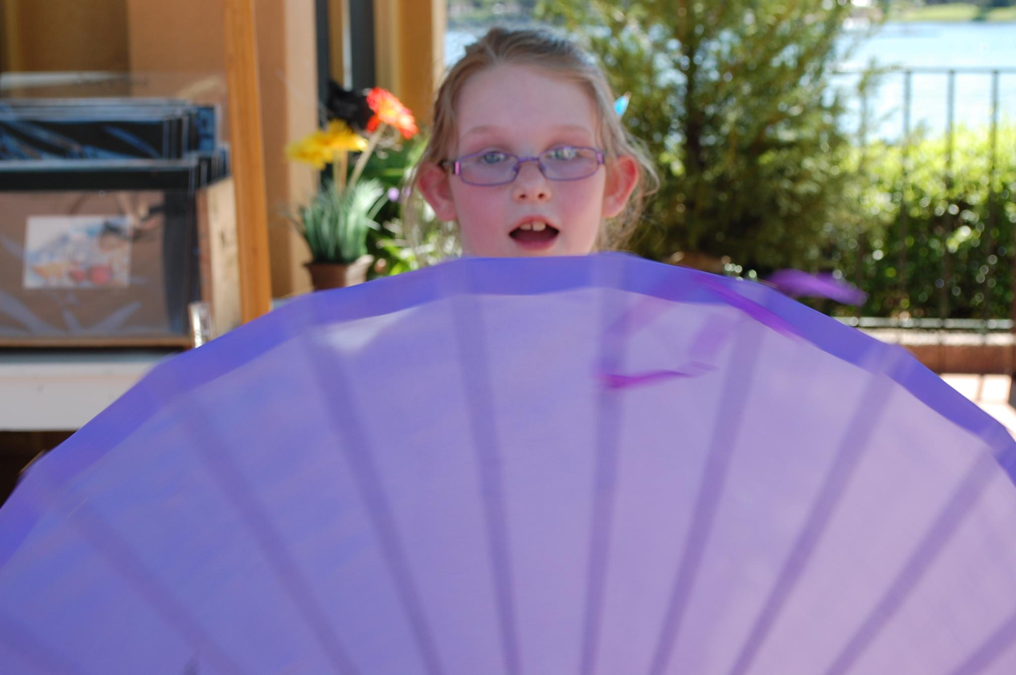 princess parasol  by kristin j clevenger