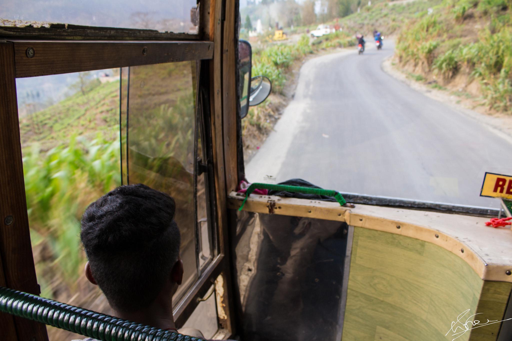 Road to heaven(Darjeeling) by Naman Sharma
