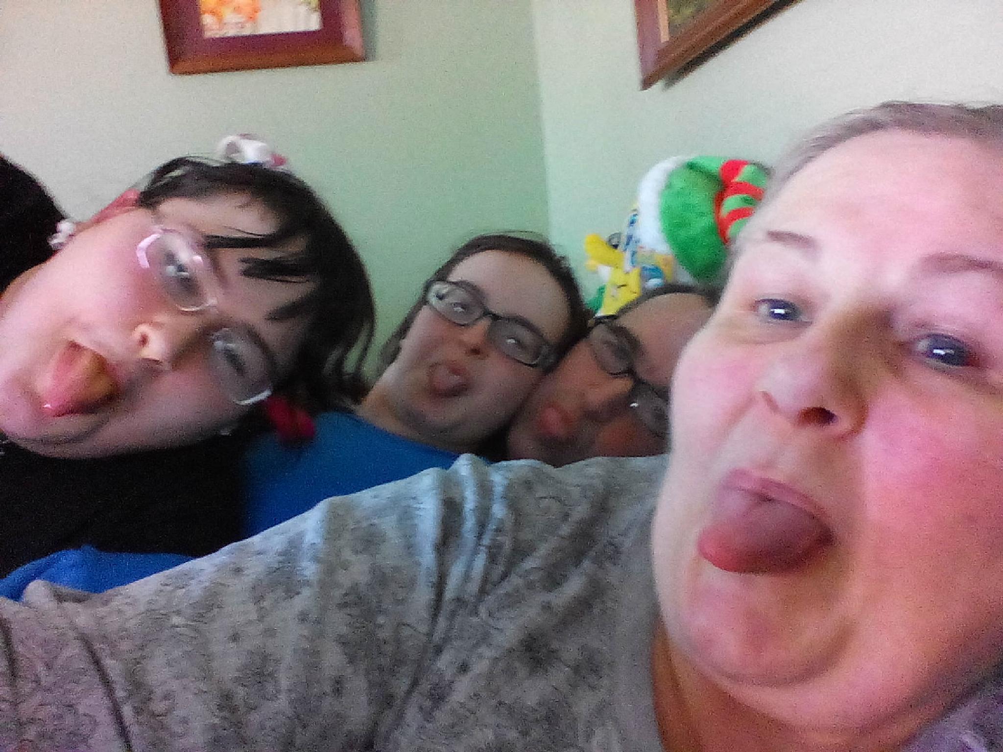 crazy family! by Karen McDonald