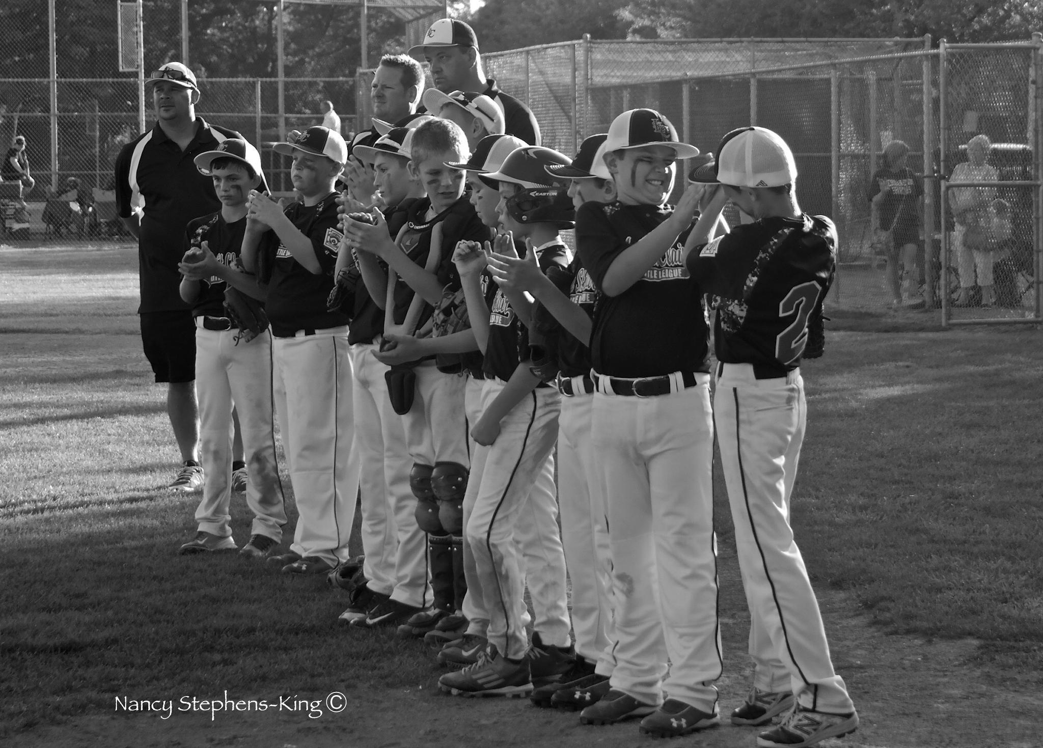 Lucas's Baseball Team by nstephensking
