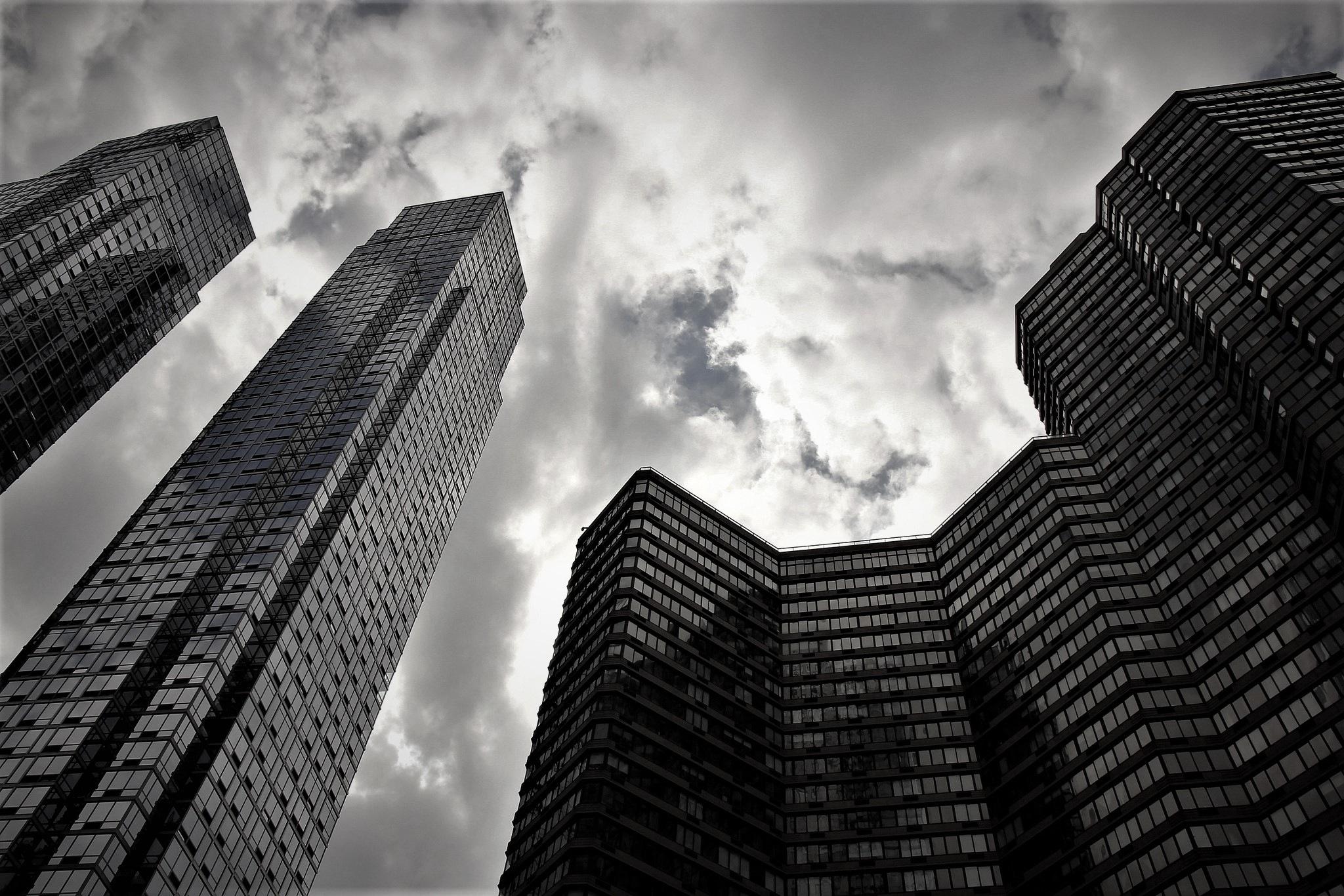 Skyscrapers by Adam Wyciszkiewicz