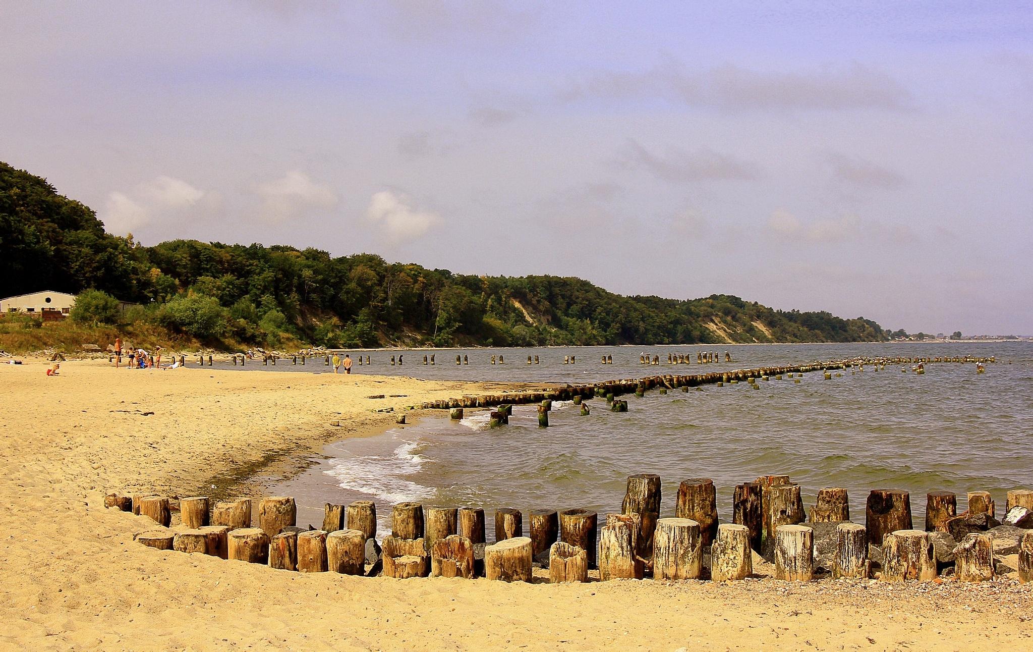 Gdynia beach by Adam Wyciszkiewicz