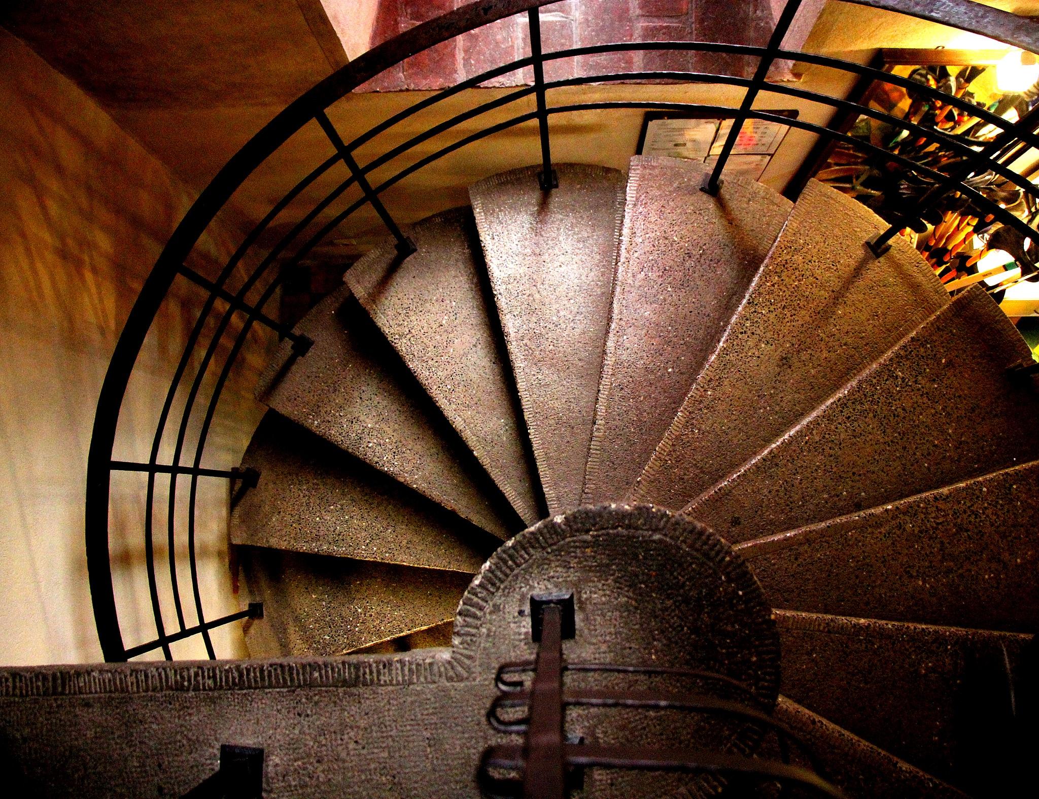 Stairs by Adam Wyciszkiewicz