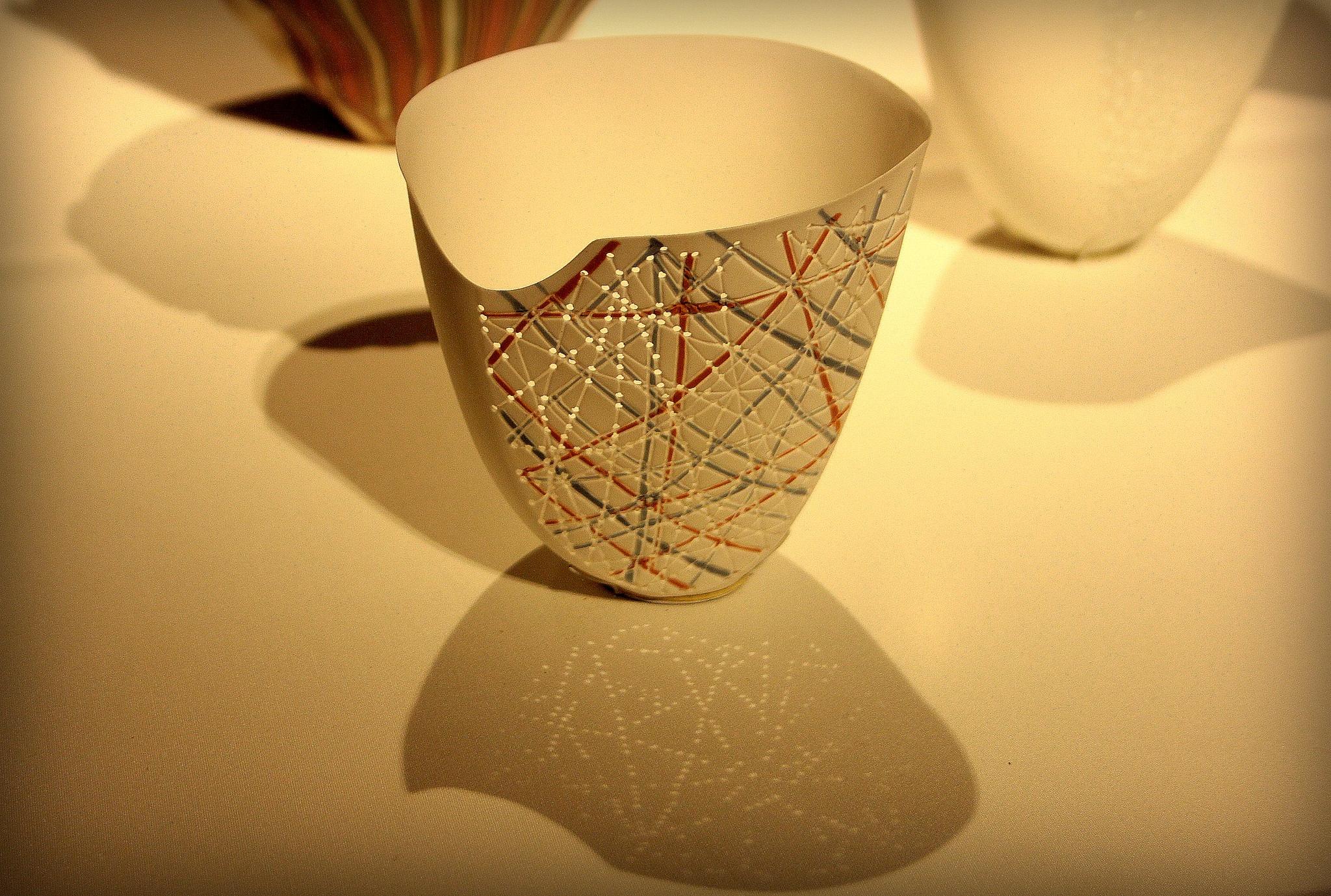 cup ... I do not know to what? by Adam Wyciszkiewicz