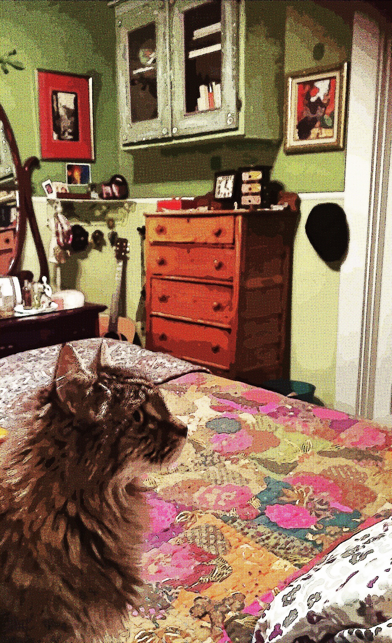 Bill Ponders the Layout of the Room by cathy.pepe.9