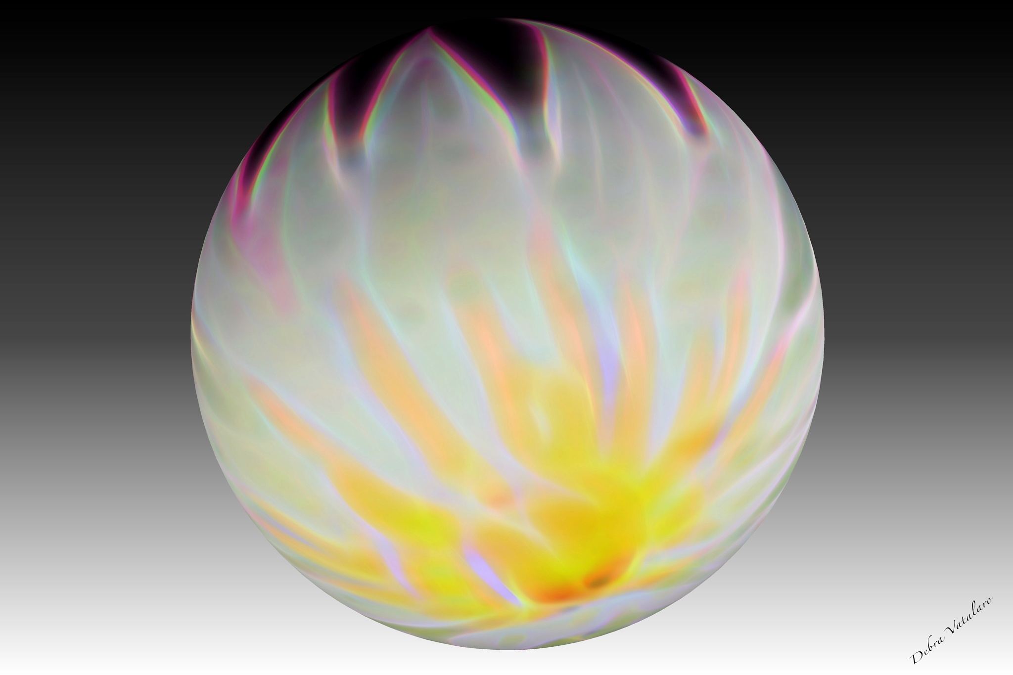 My Pearls- White Flame by DAVatalaro