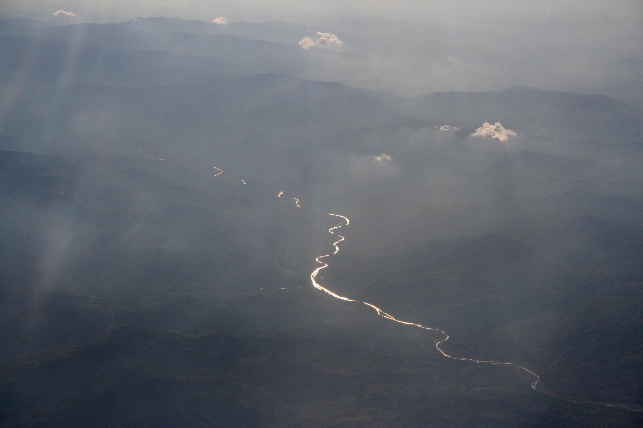 Far above: PO river by Massimo Capri
