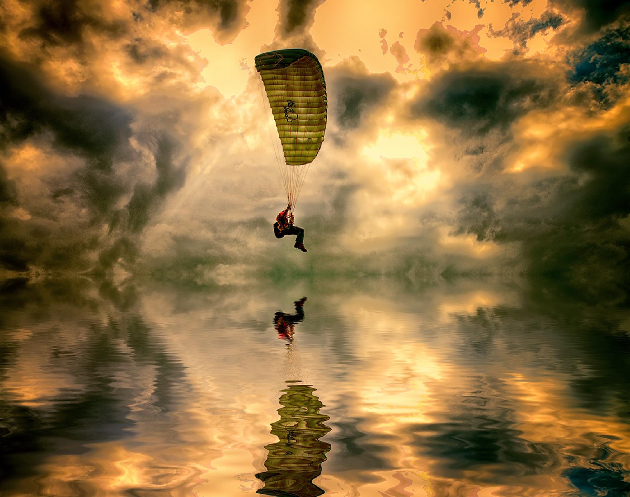 Parachute guy by egonzitter