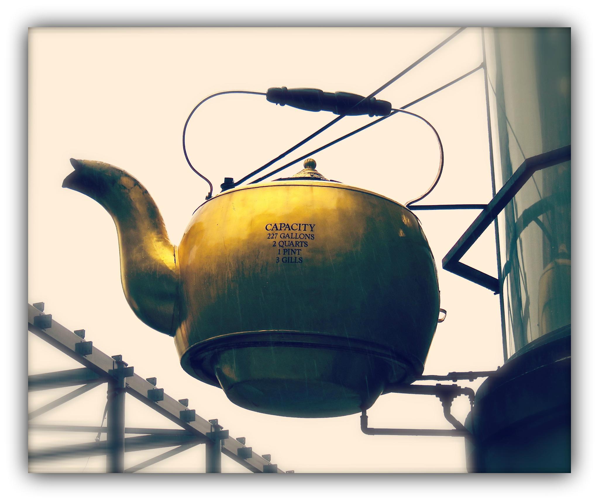 Giant Tea Kettle by Dana Wiehl