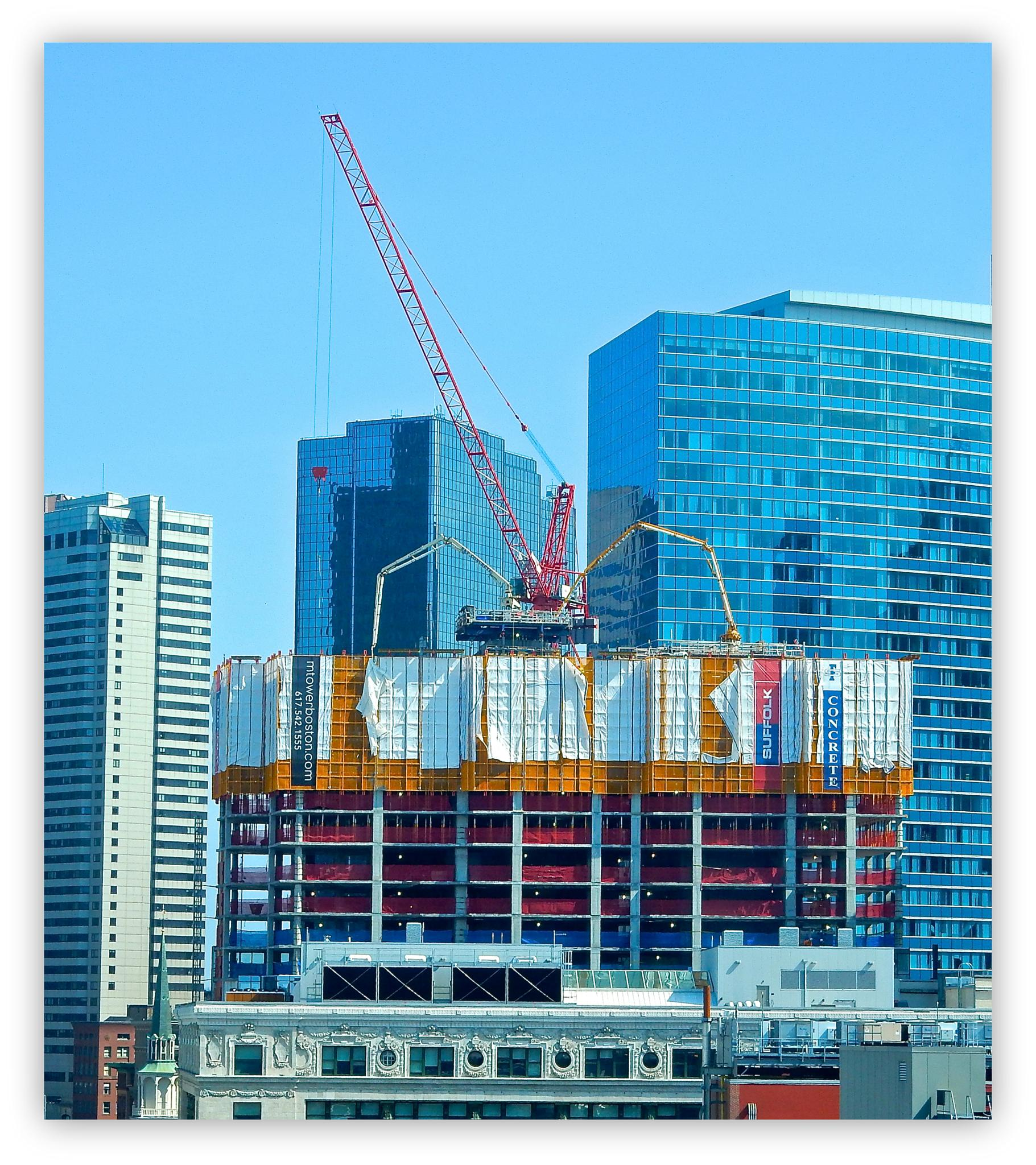 Photo in Cityscape #crane #boston #spider