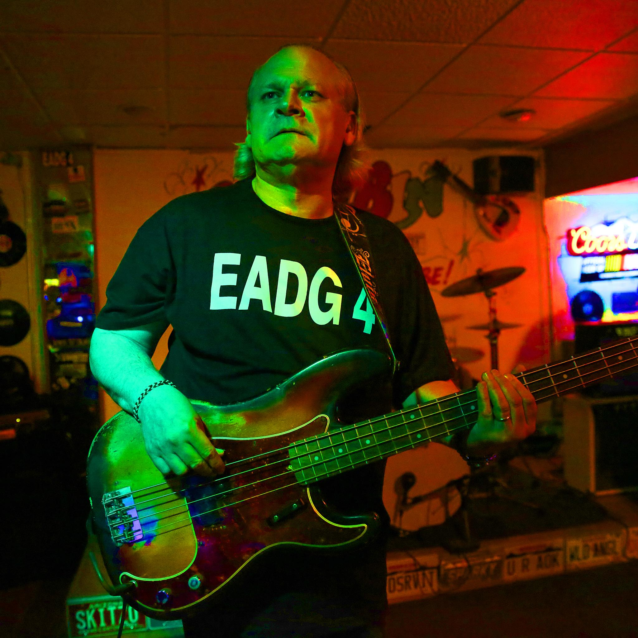 Bassist John Falstrom LIVE by TJ - A H Wolf Photography