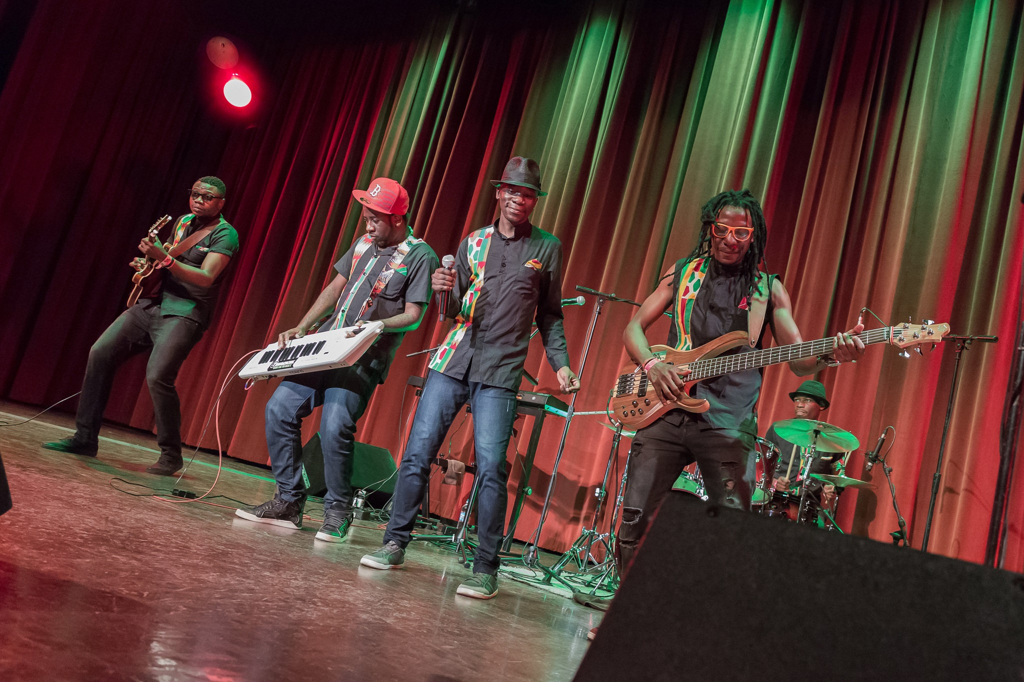 MOKOOMBA LIVE AFRO FUSION BAND by TJ - A H Wolf Photography