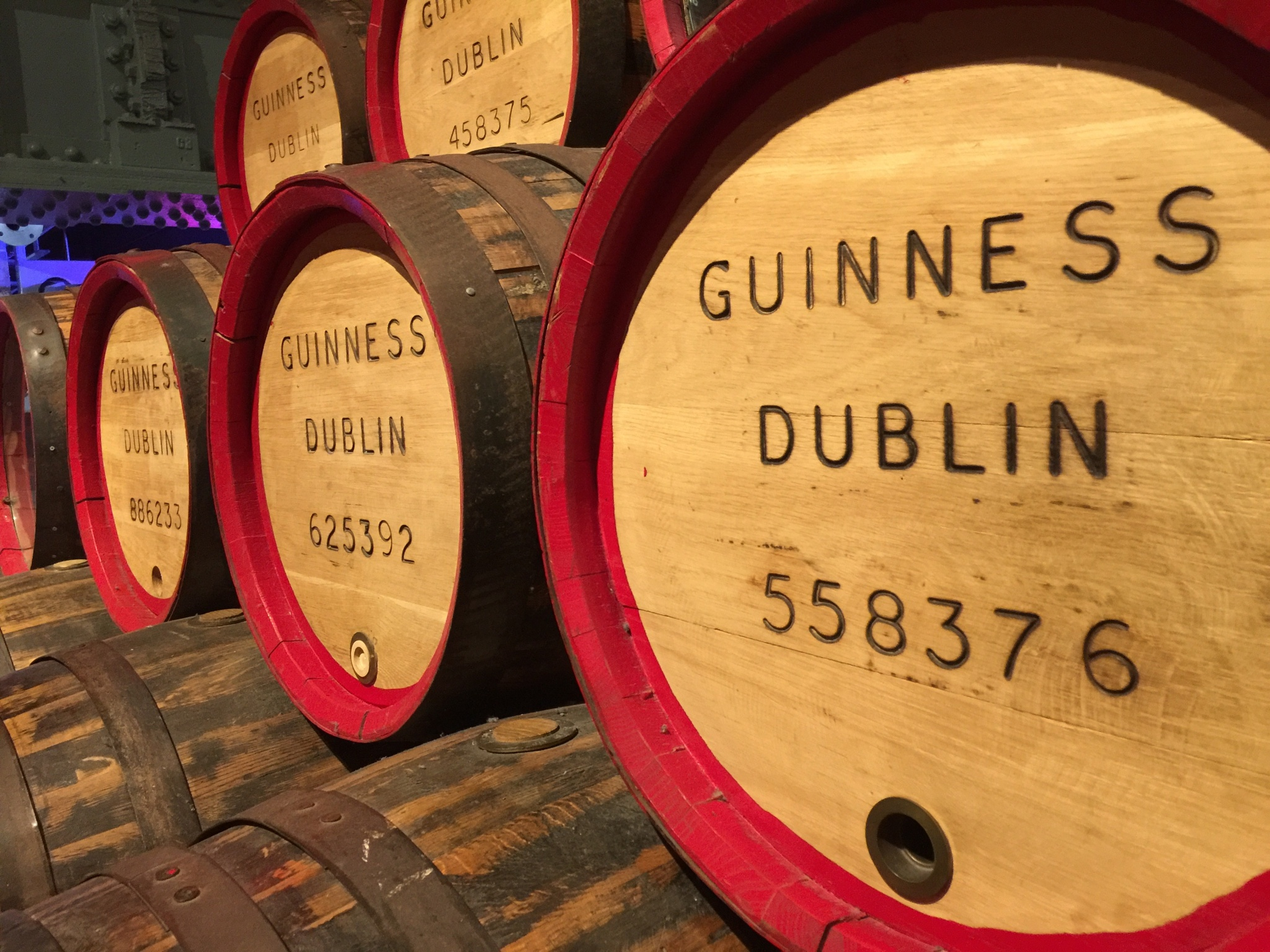 Heaven on Earth? No, just the Guinness Factory in Dublin by Rob Jager