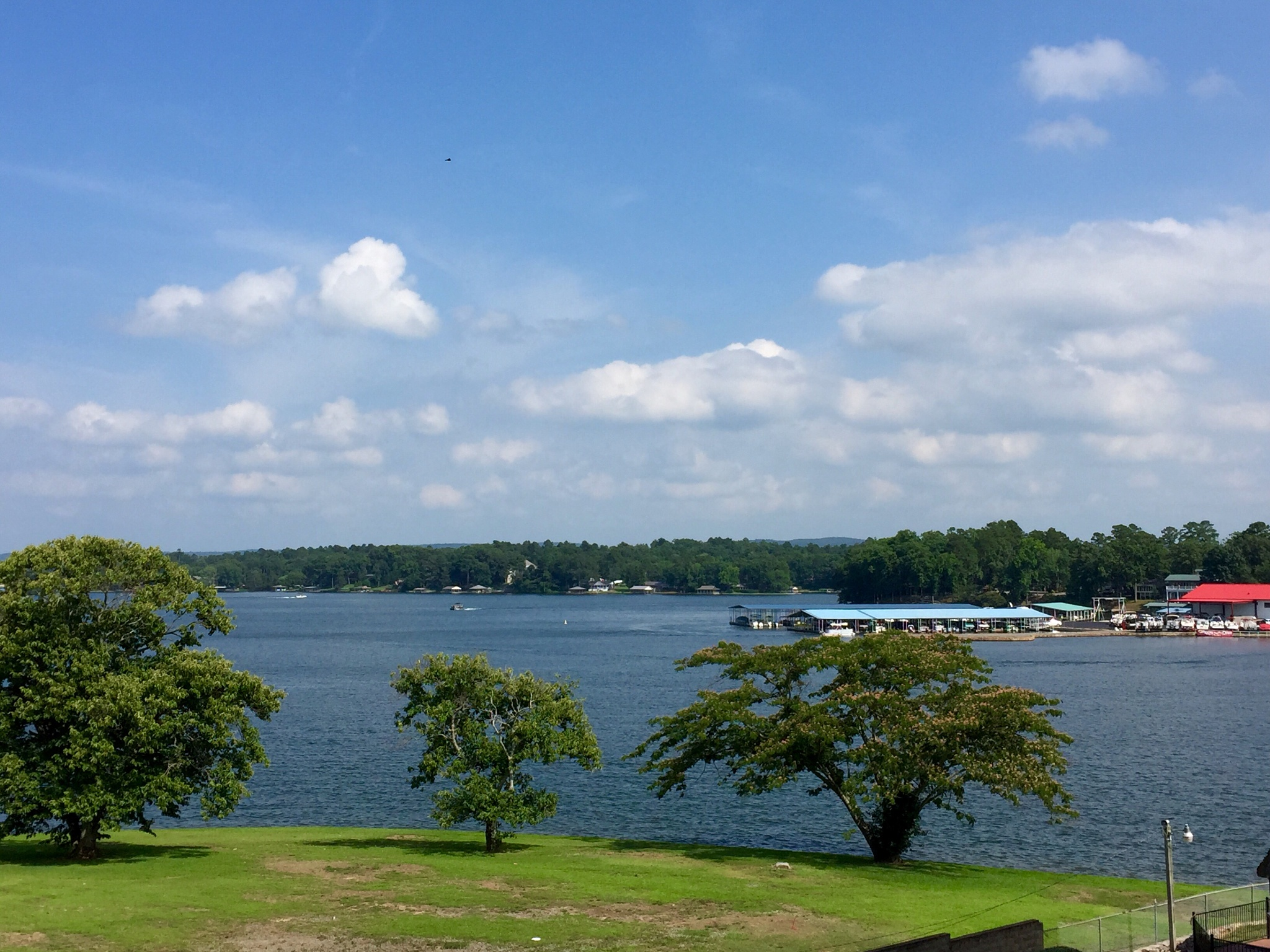 Lake Hamilton in Hot Springs, AR  by marian.states