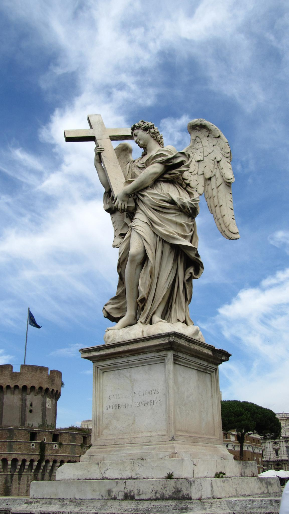 Angel with Cross by ingamay.premros