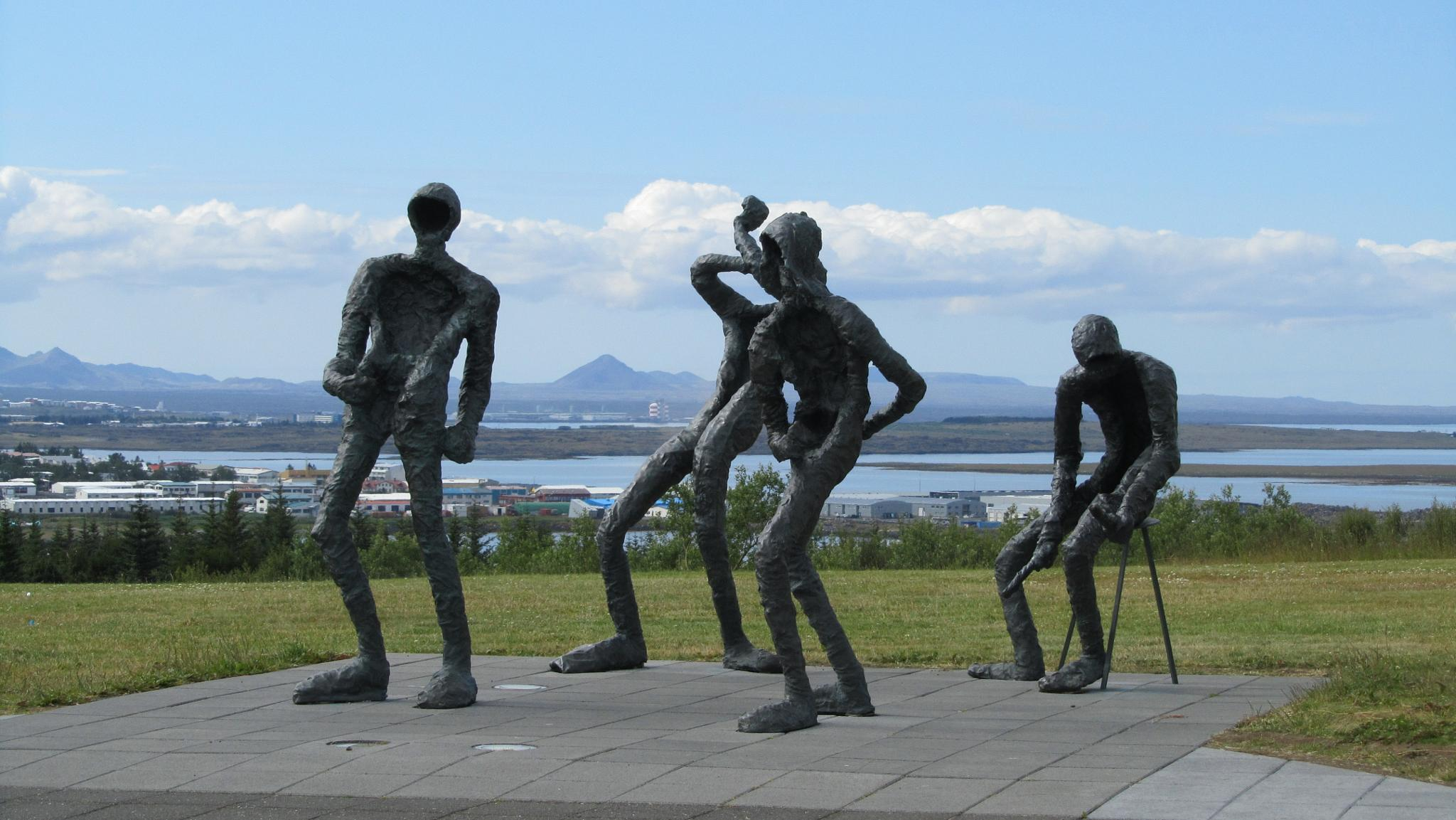 Steel sculptures by ingamay.premros