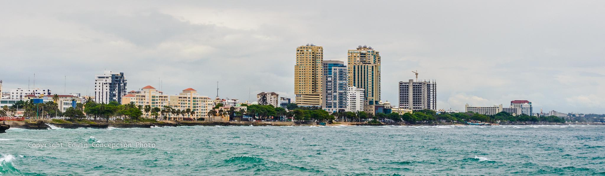 Downtown Santo Domingo by Edwin Concepción