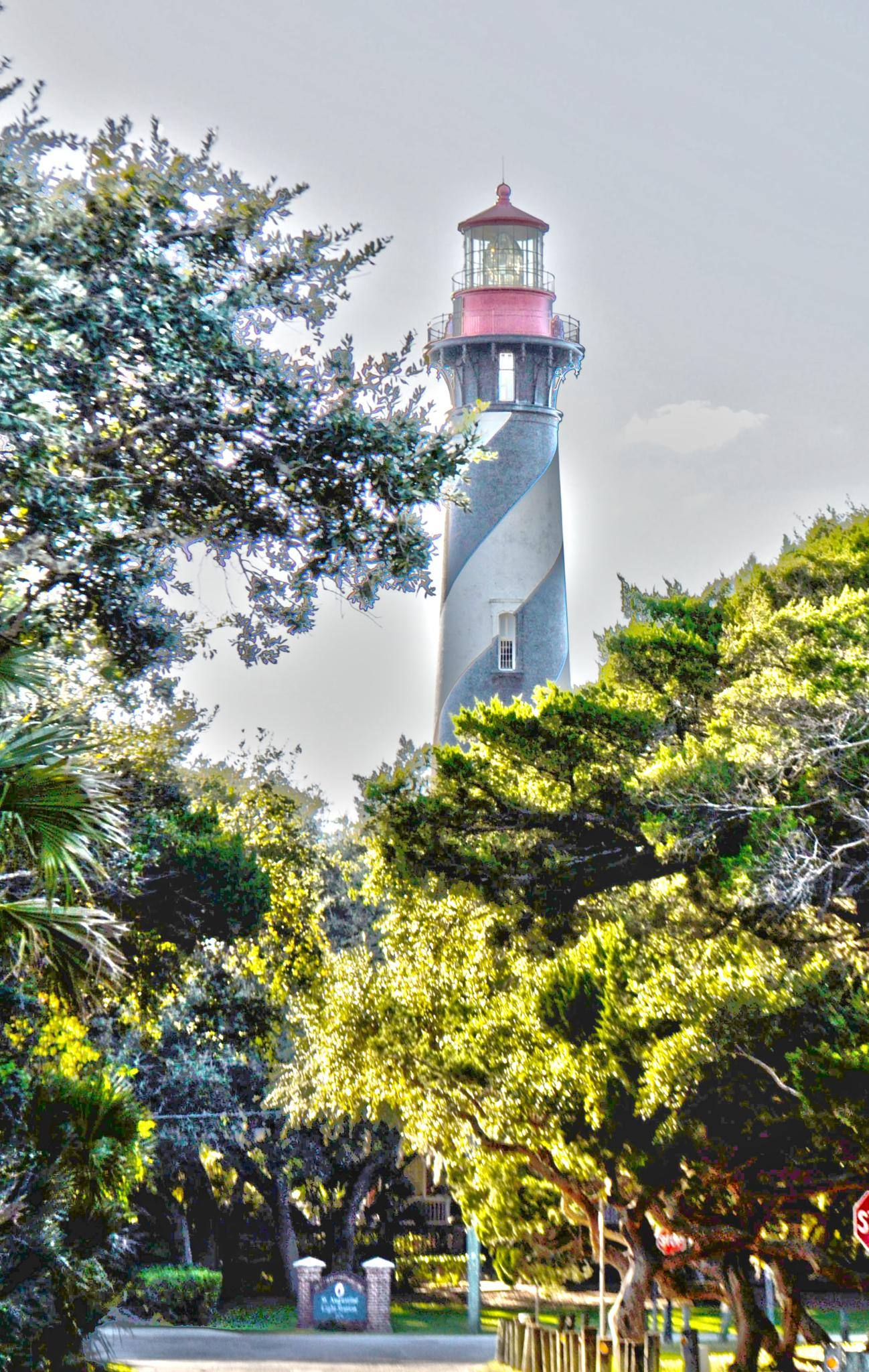 St. Augustine Lighthouse by pamsheedy