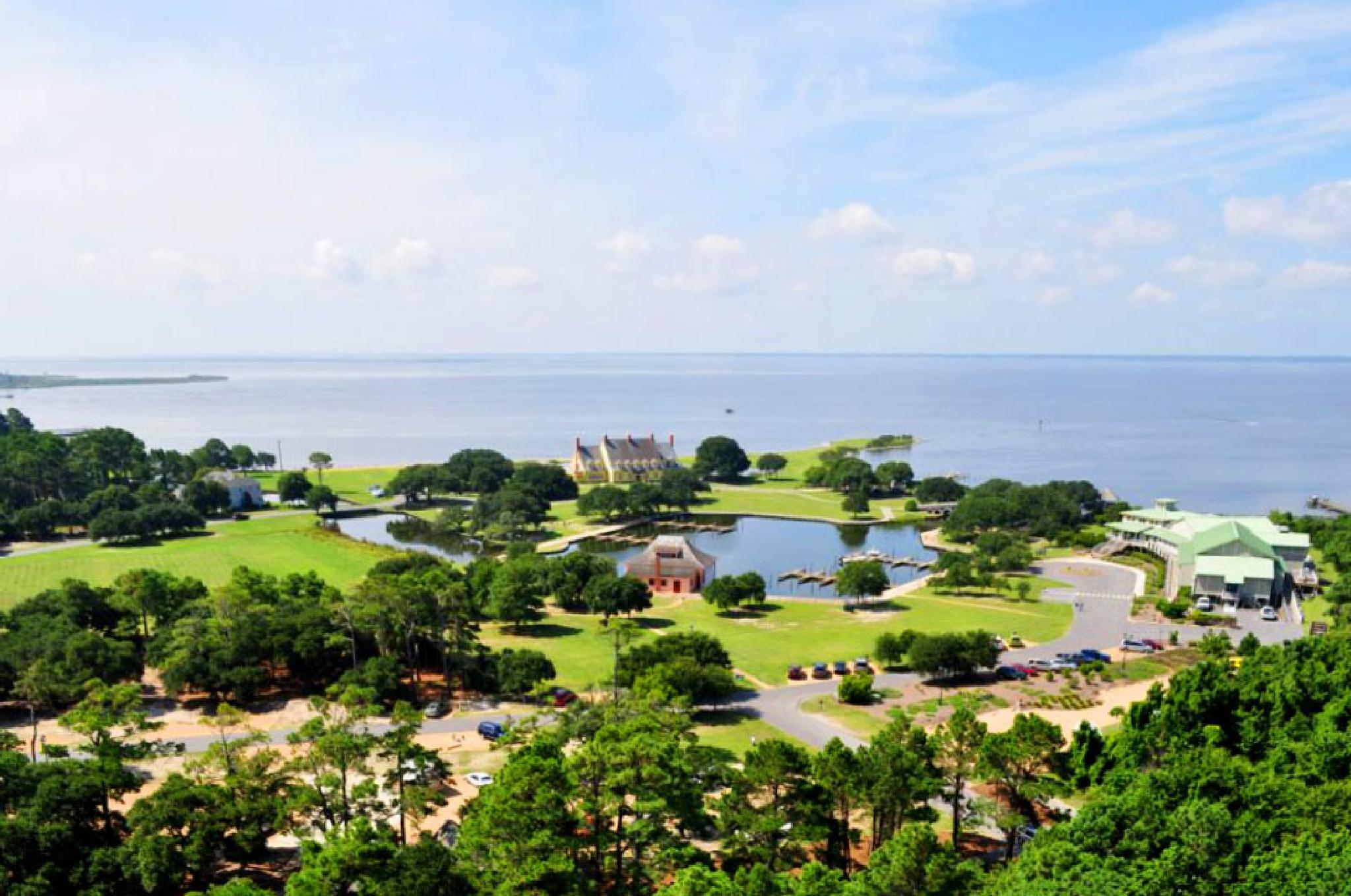 View from Currituck Lighthouse by pamsheedy