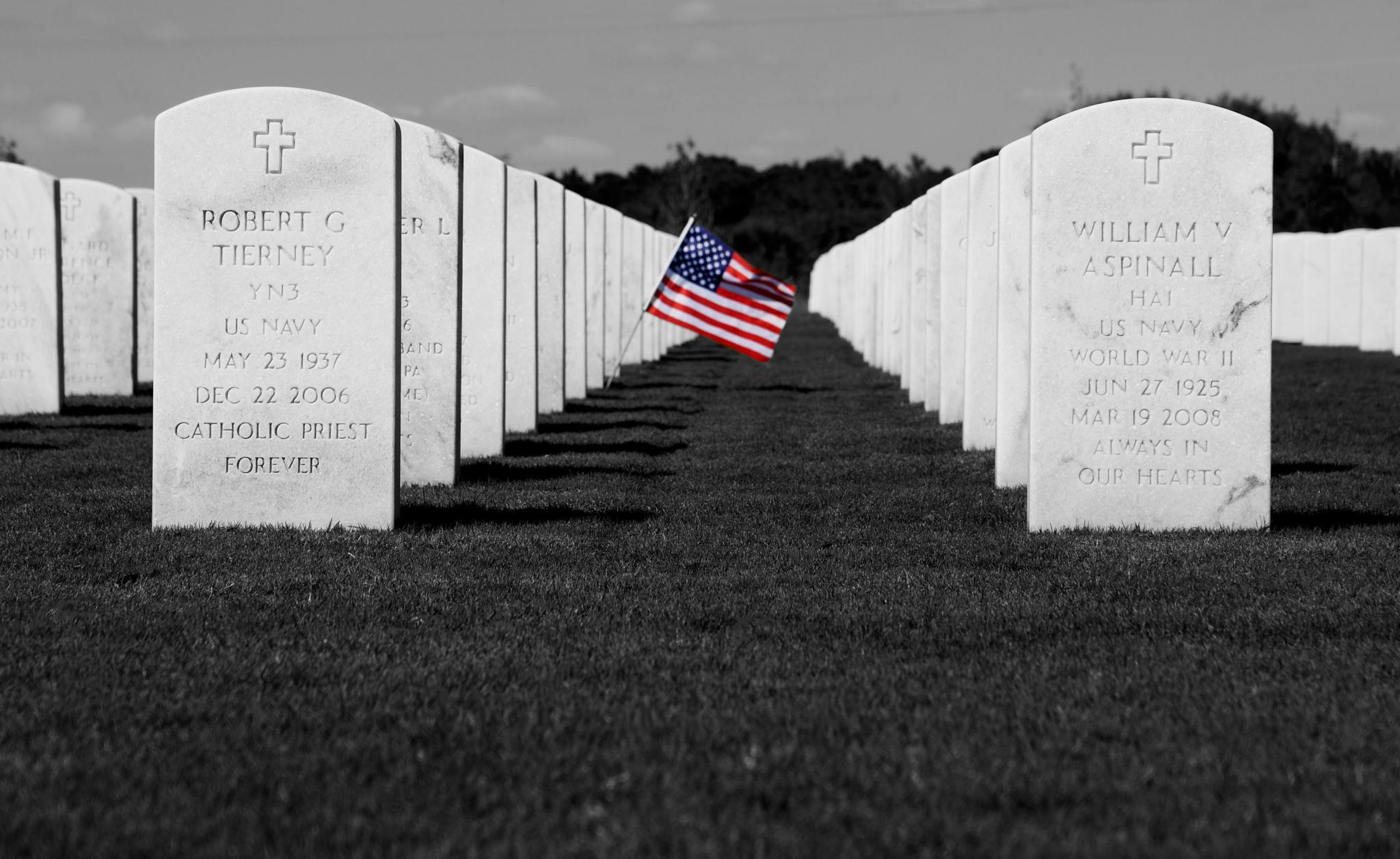 WW2 Veterans Cemetary by pamsheedy