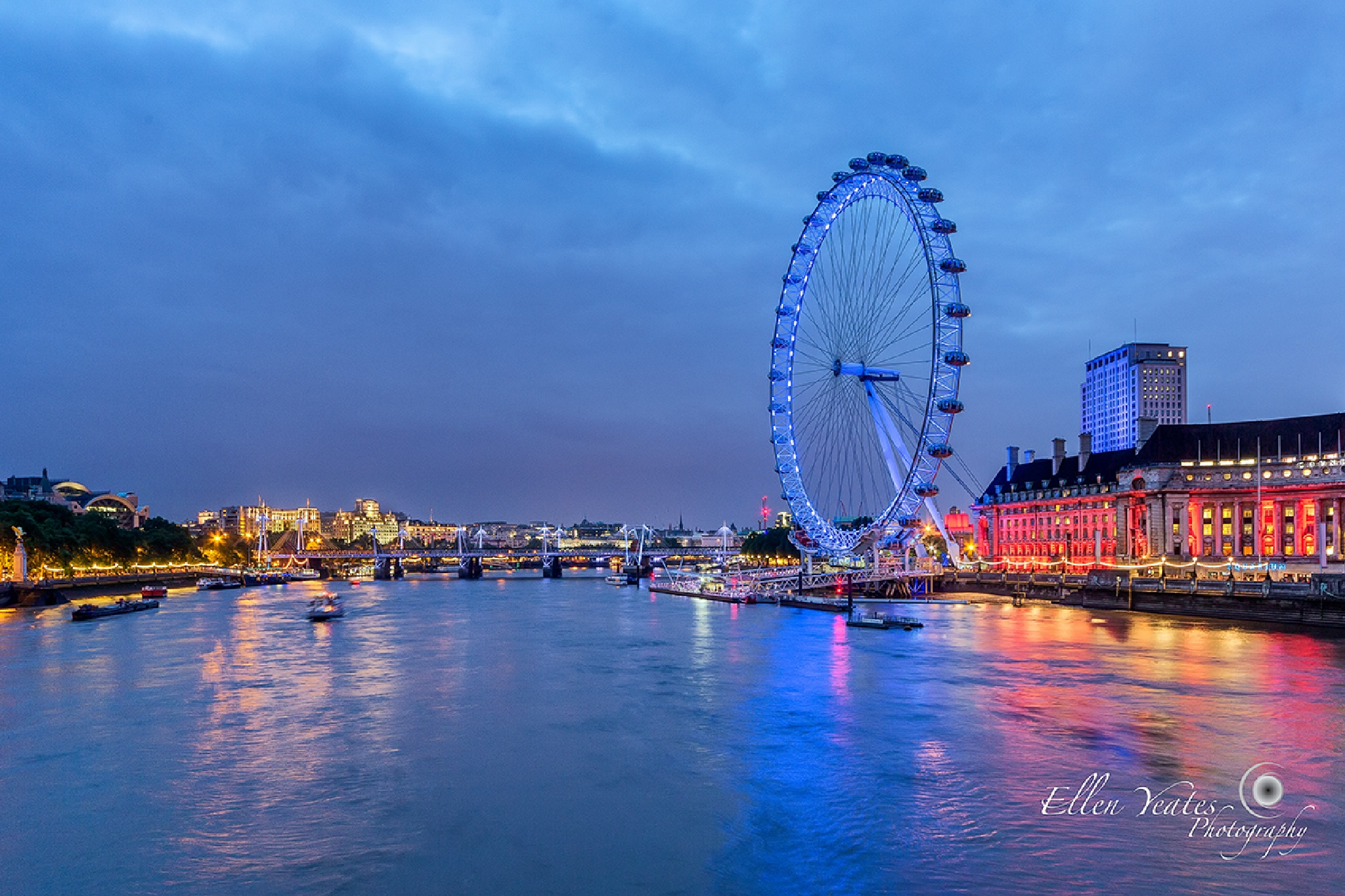 London Eye by Ellen Yeates