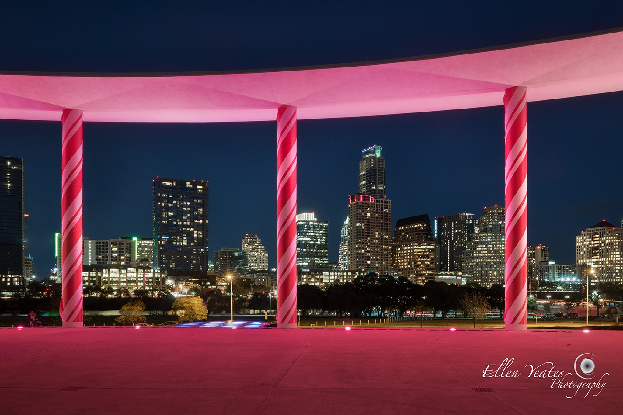 Skyline From Long Center  by Ellen Yeates
