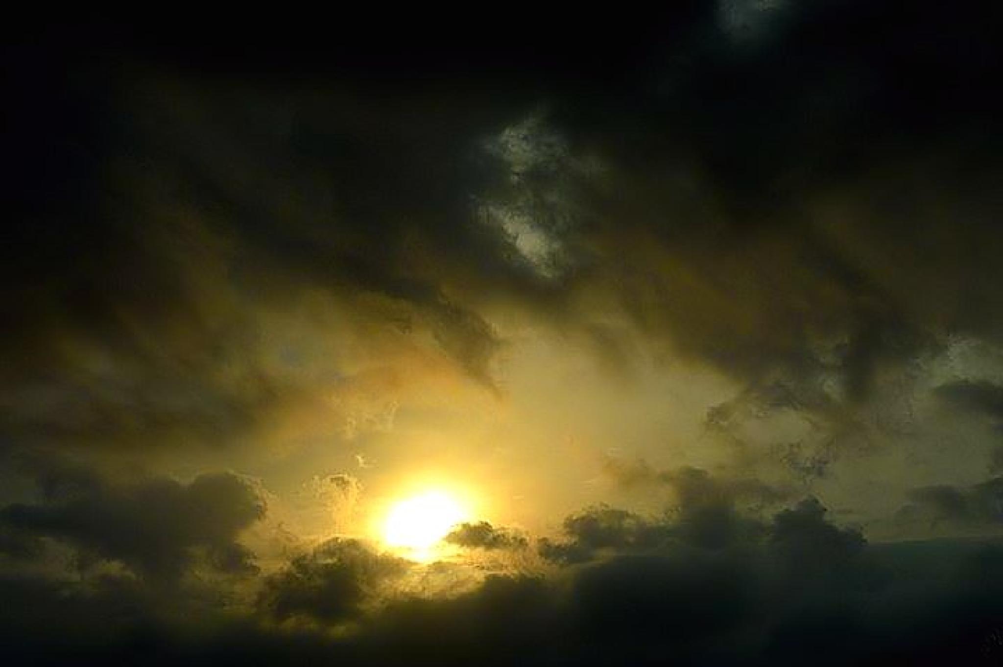 Cloudy Day Sun by karen.pearson.184