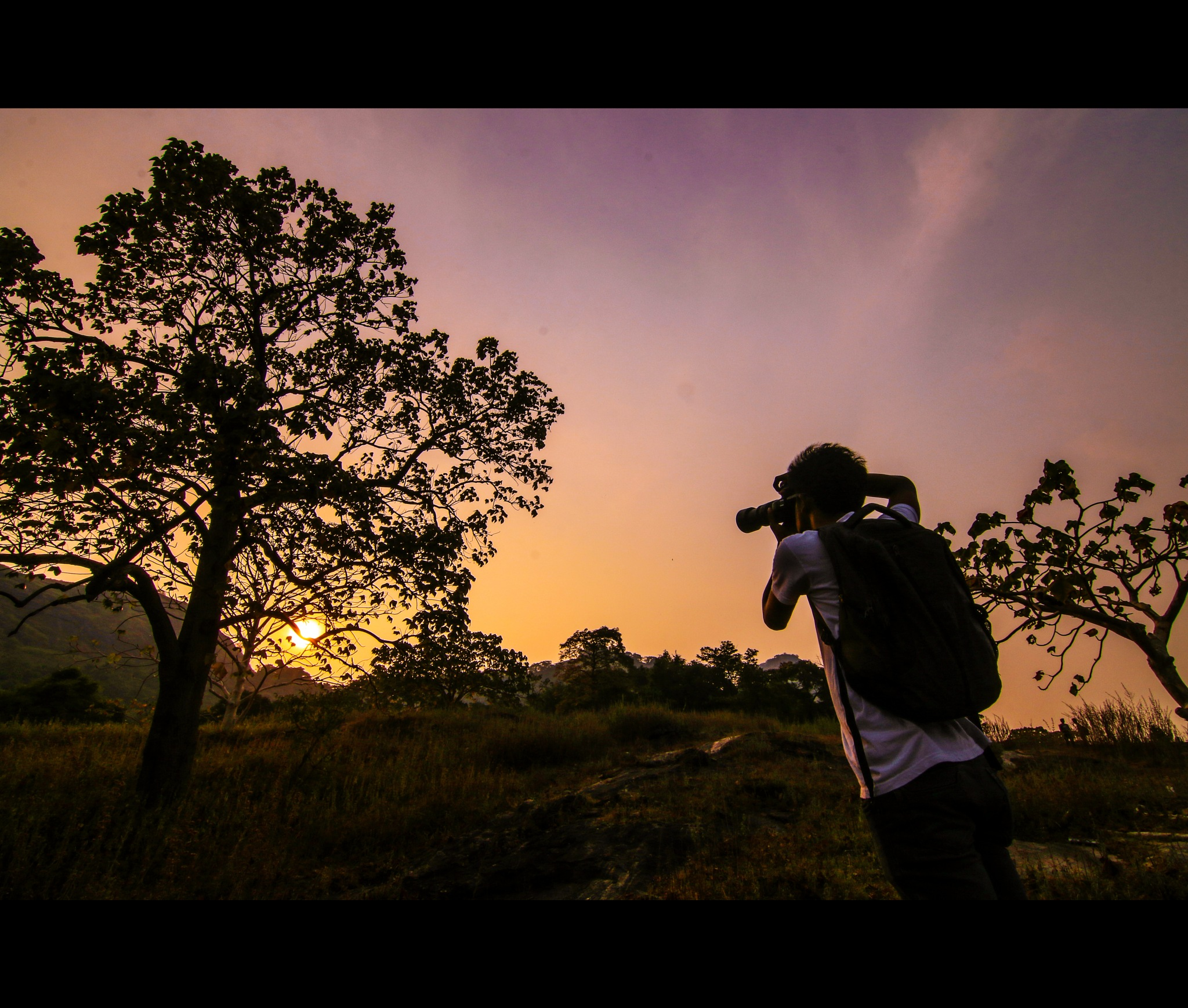 When man step's out to explore. by karthiknair56884