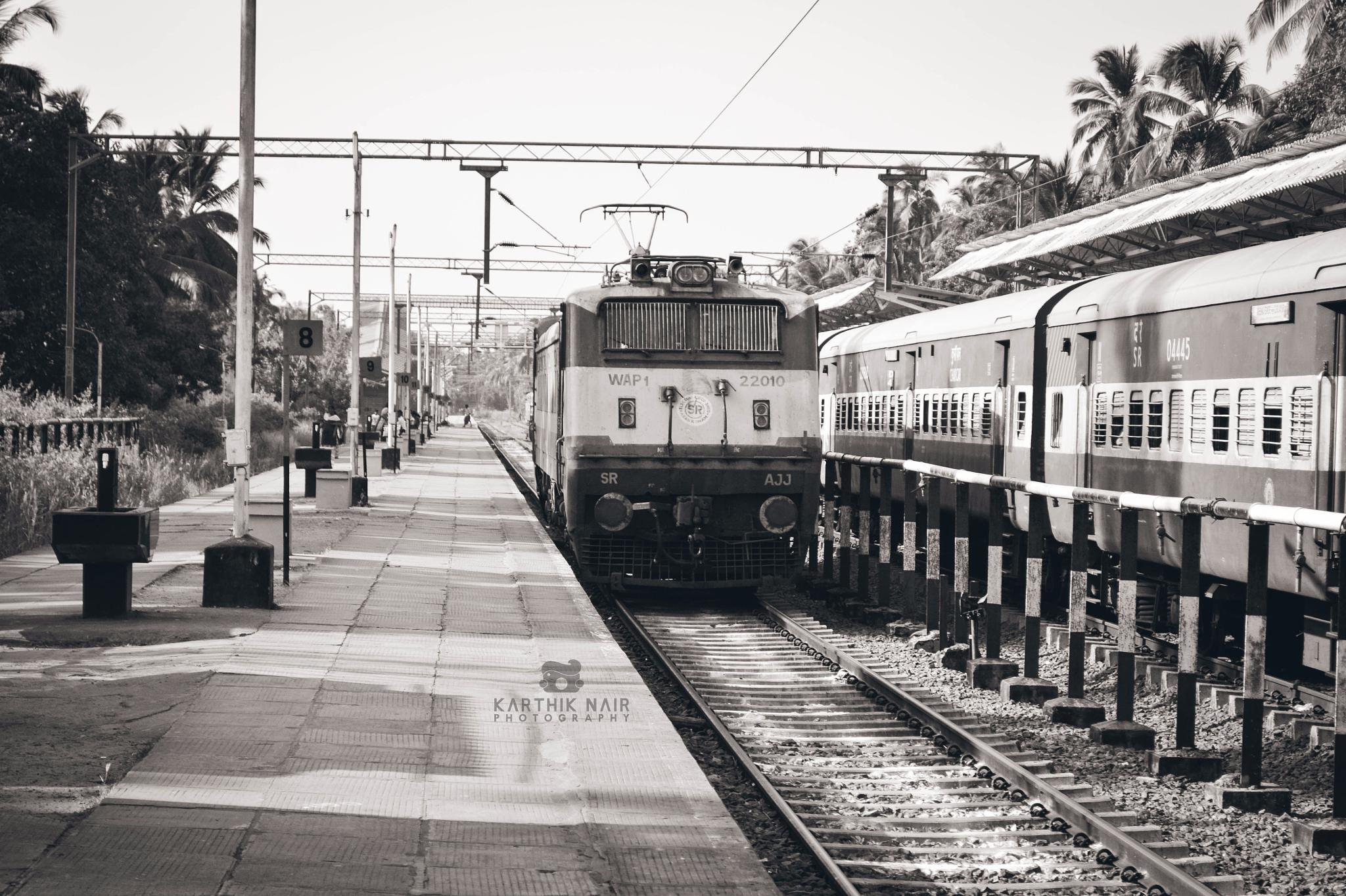Indian railways by karthiknair56884