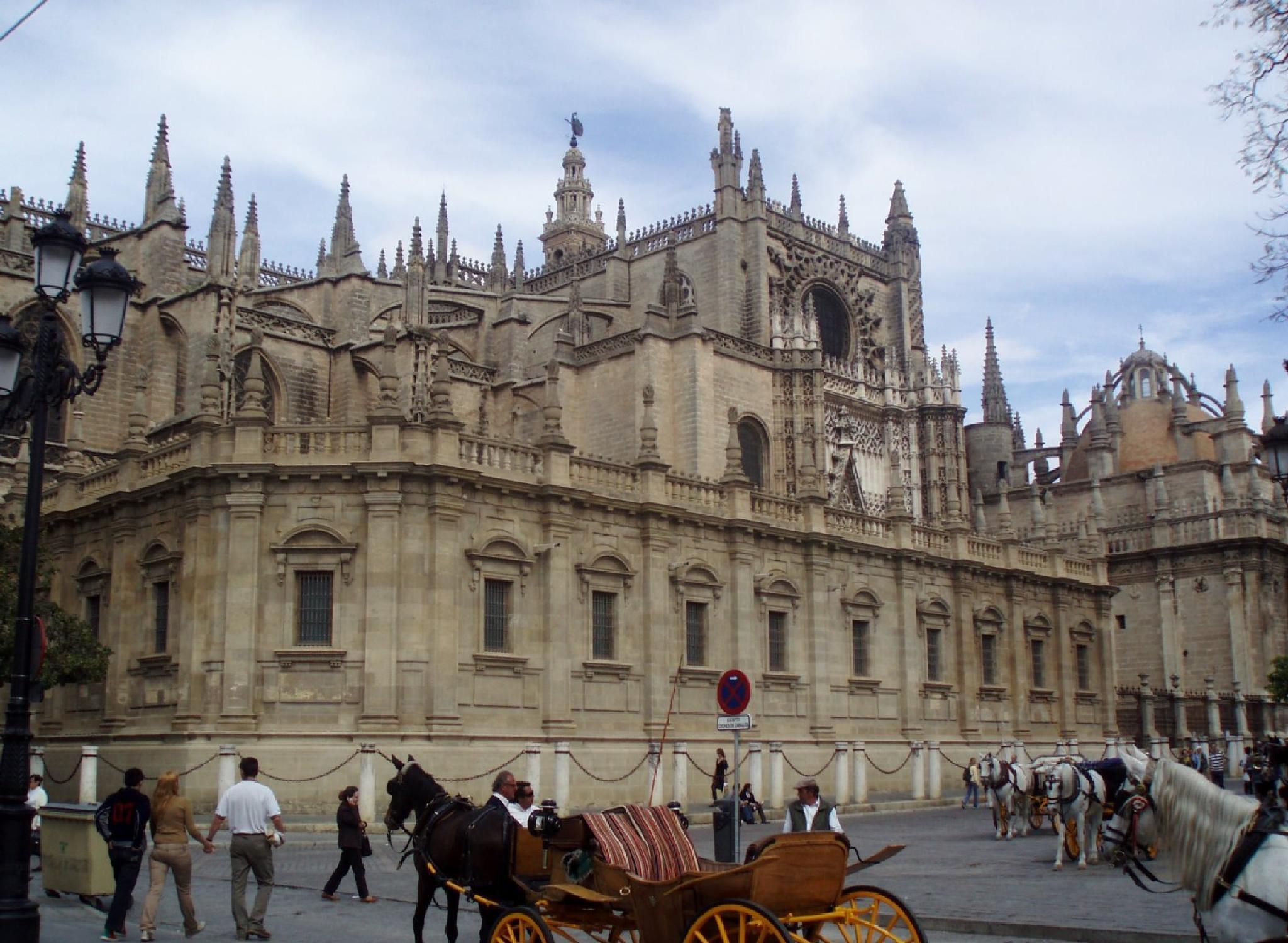 Sevilla Cathedral by aida.carpena