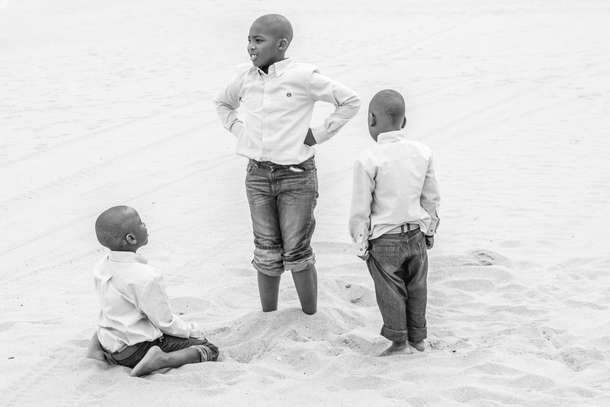 Sand Brothers by Roben Blaize
