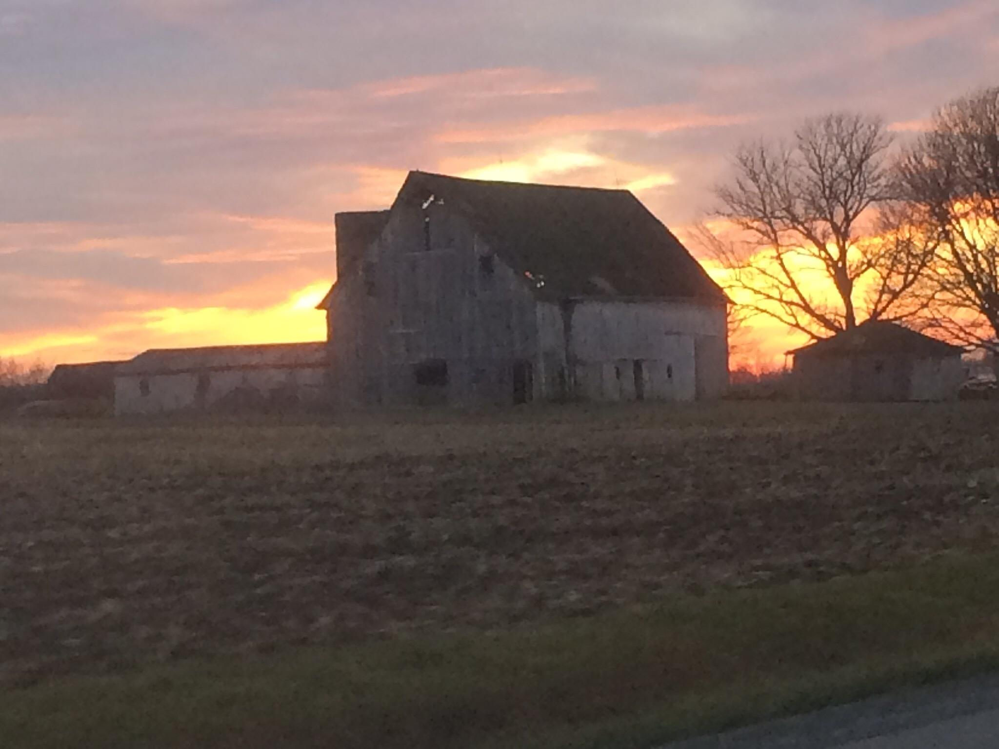 Sunset on the Farm by tracy.alderson.96