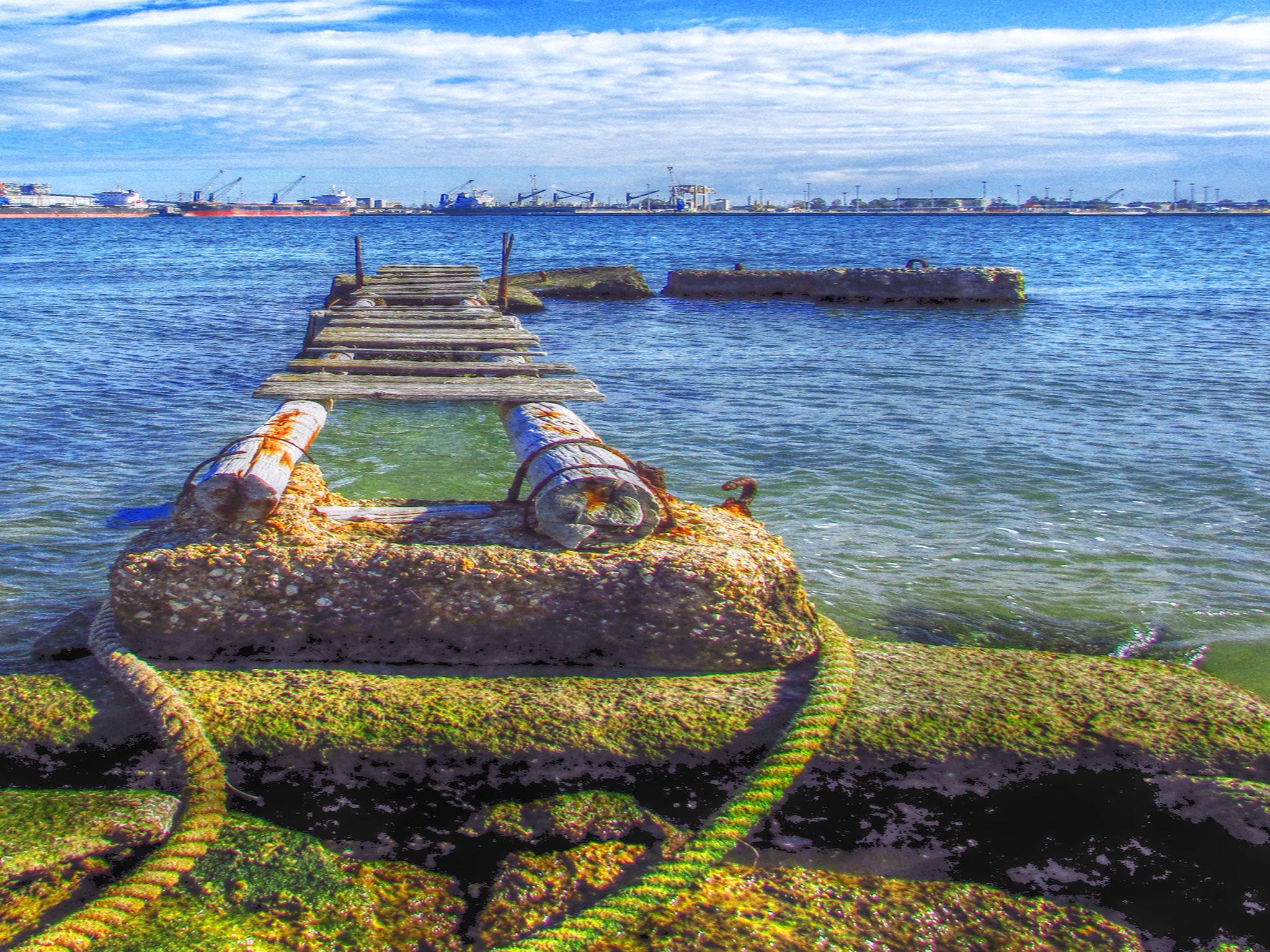 Old Pier by garrisidaniele