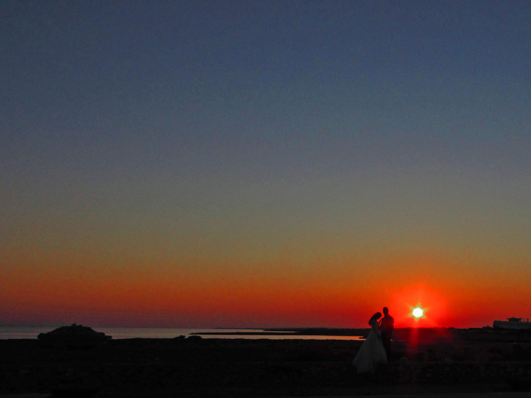 Red Sunset by garrisidaniele